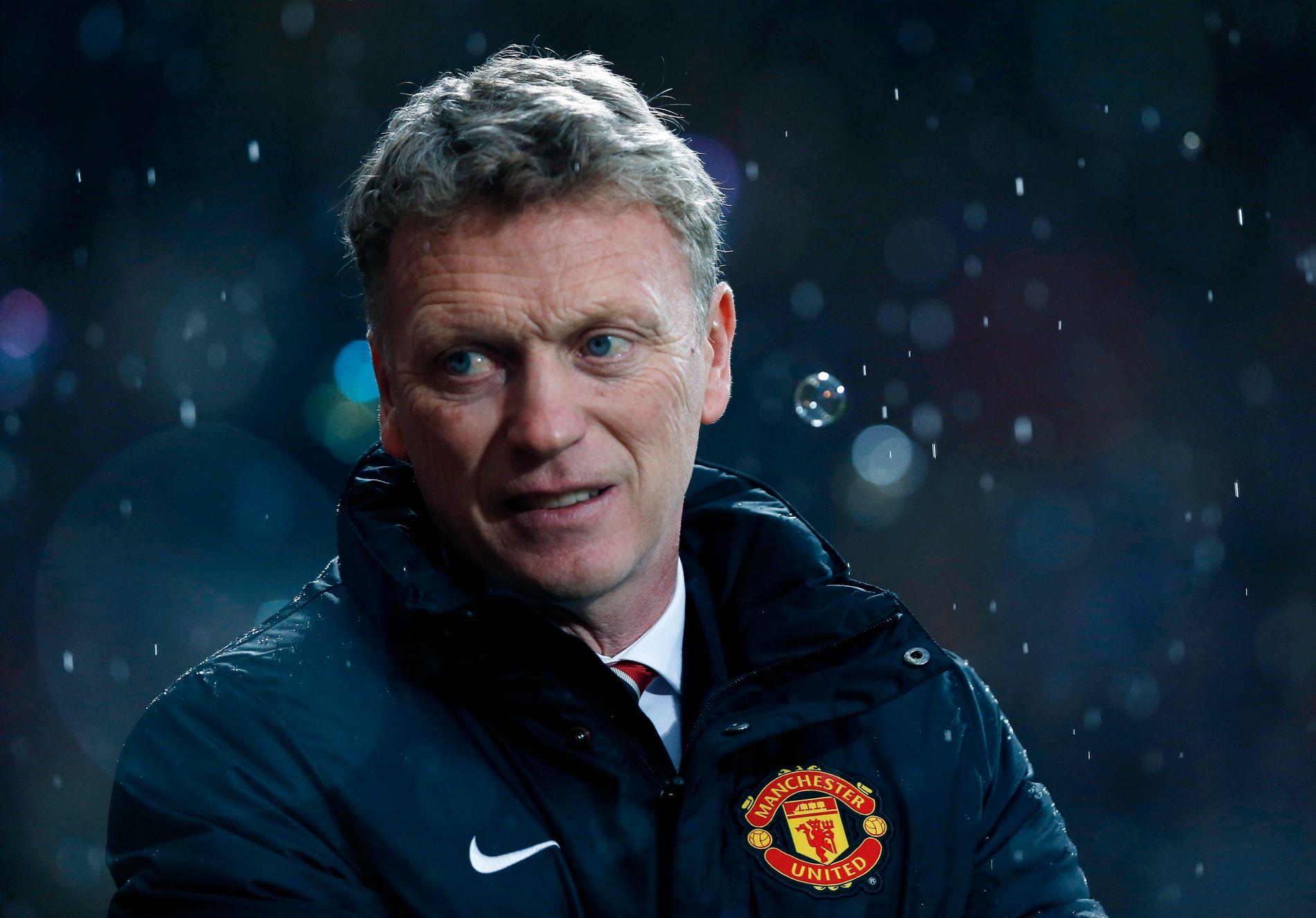 David Moyes fikk kun ti måneder som manager i Manchester United.
