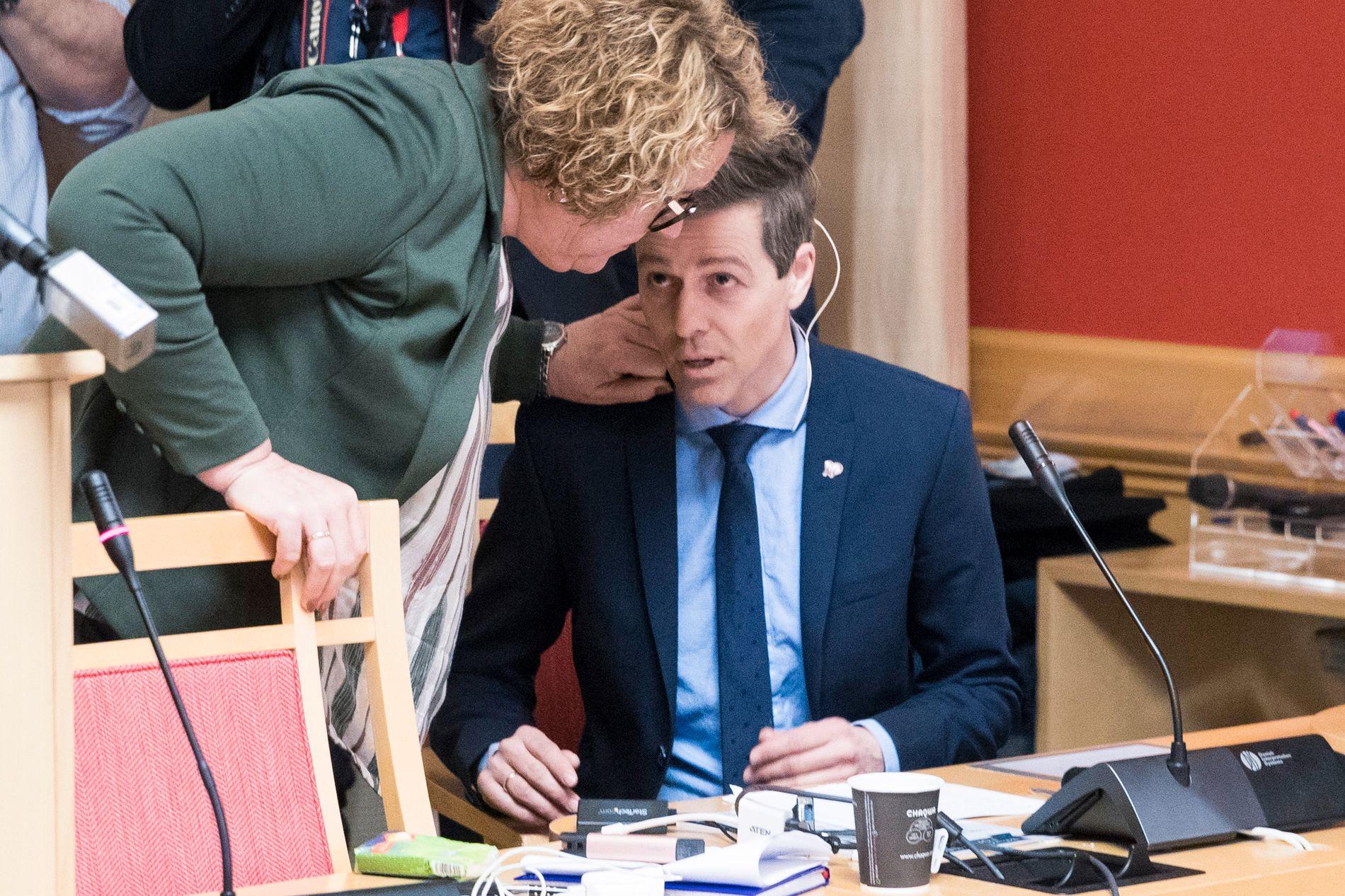 PRESS: Olaug Bollestads hjemfylke var klare på hva de mener om «Vestland». Partileder Knut Arild Hareides hjemfylke gikk til slutt seirende ut av striden.