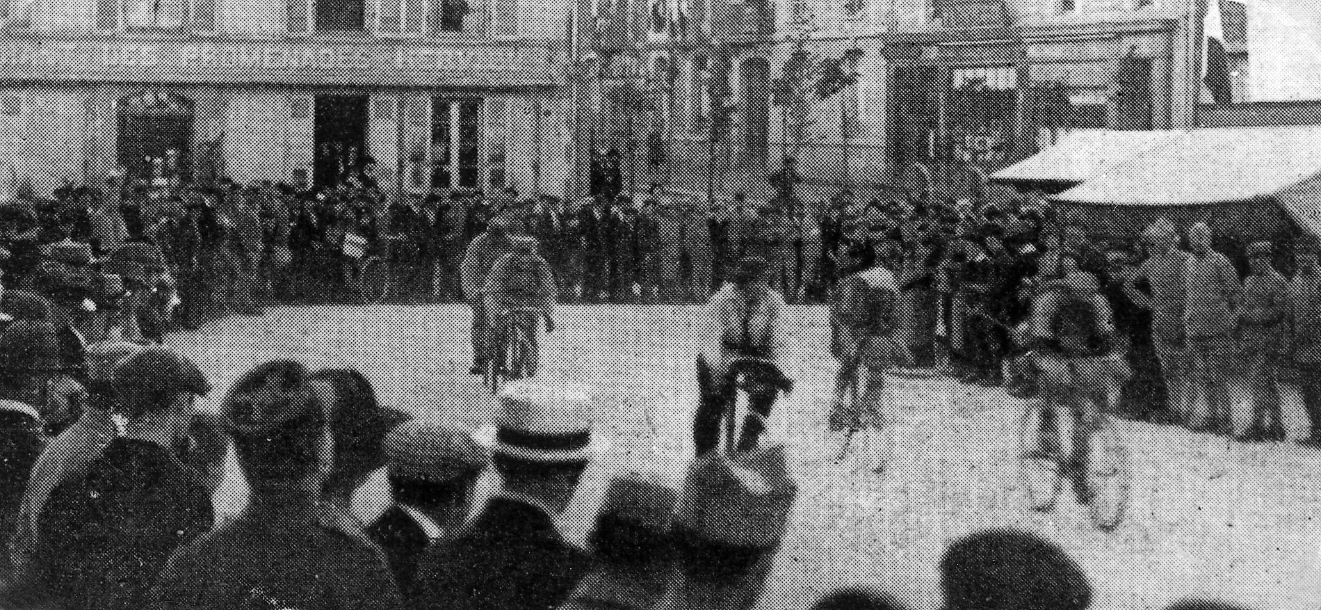 STOR FORANDRING: Mye har skjedd siden sykkelrittets start i 1903.