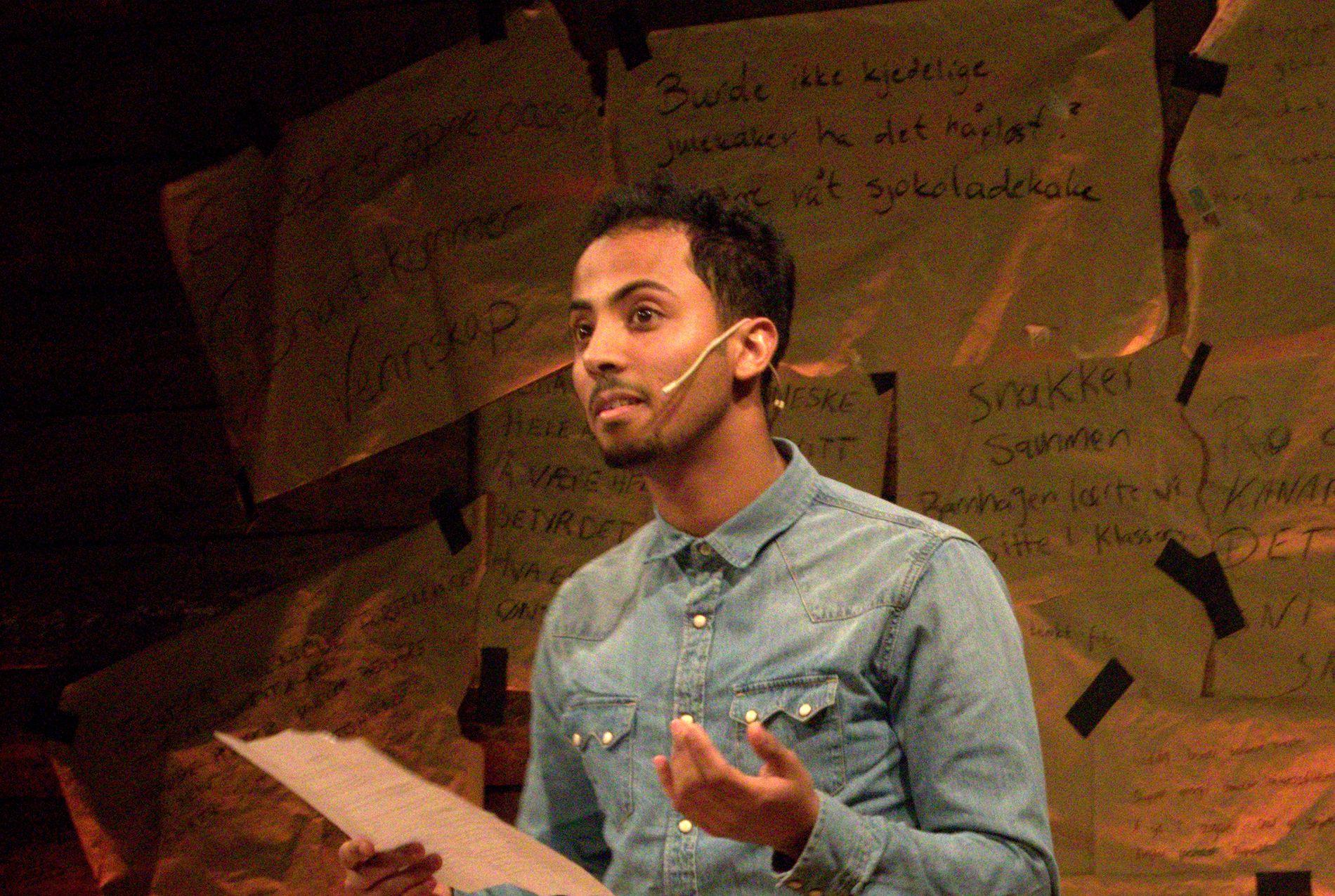 TUNGT: Som fersk innvandrer i Bergen med stor arbeidslyst, er det tungt å bli mistenkt for å snylte på landets velferdsgoder, skriver Mohamed Saleh (26). Han kom til Norge som 21-årig flyktning fra Somalia og er engasjert i mange frivillige organisasjoner.