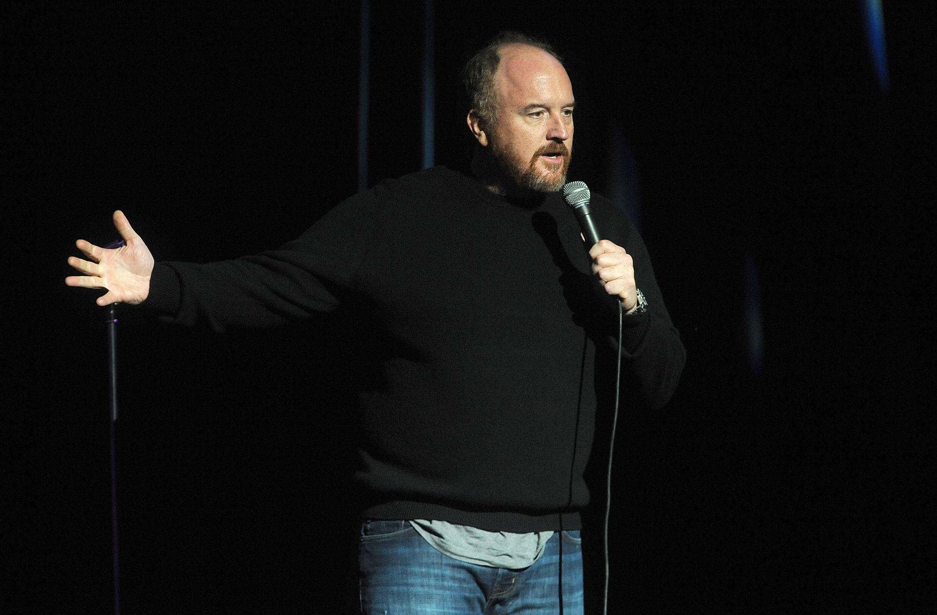 HAR GJORT OPP FOR SEG: Christoffer Schjelderup mener den verdenskjente komikeren Louis C.K. har gjort såpass opp for seg at det var greit å invitere ham til Bergen.