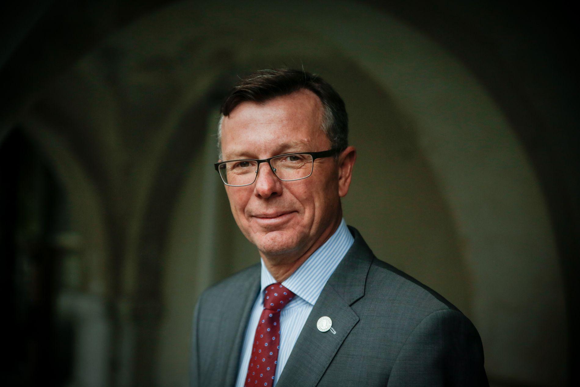 HØYT AMBISJONSNIVÅ: UiB ved rektor Dag Rune Olsen vil tilby Honours-program fra 2021, noe som støttes av Bergens Tidende på lederplass.