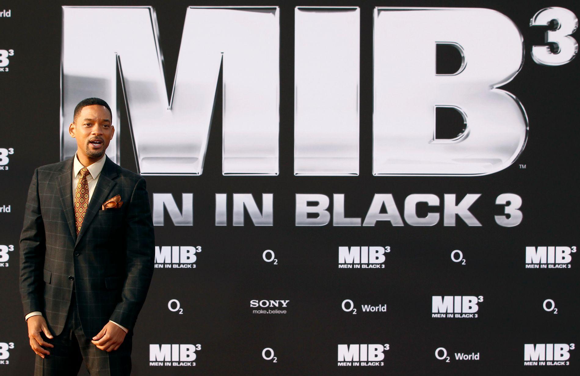 Will Smith spilte i Men in Black 3. Filmserien er blitt en enorm kommersielt suksess.