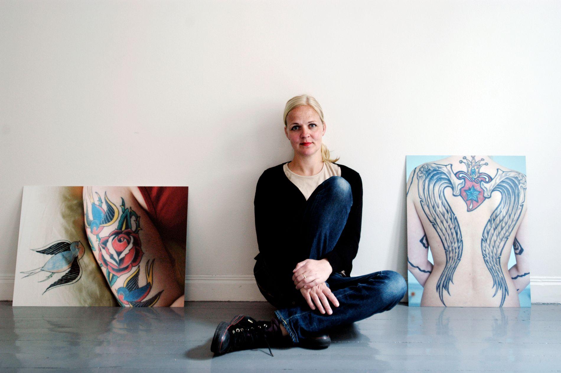 I SAMLINGEN: Lotte Konow-Lund i Galleri Bouhlou i 2005 (arkivfoto).