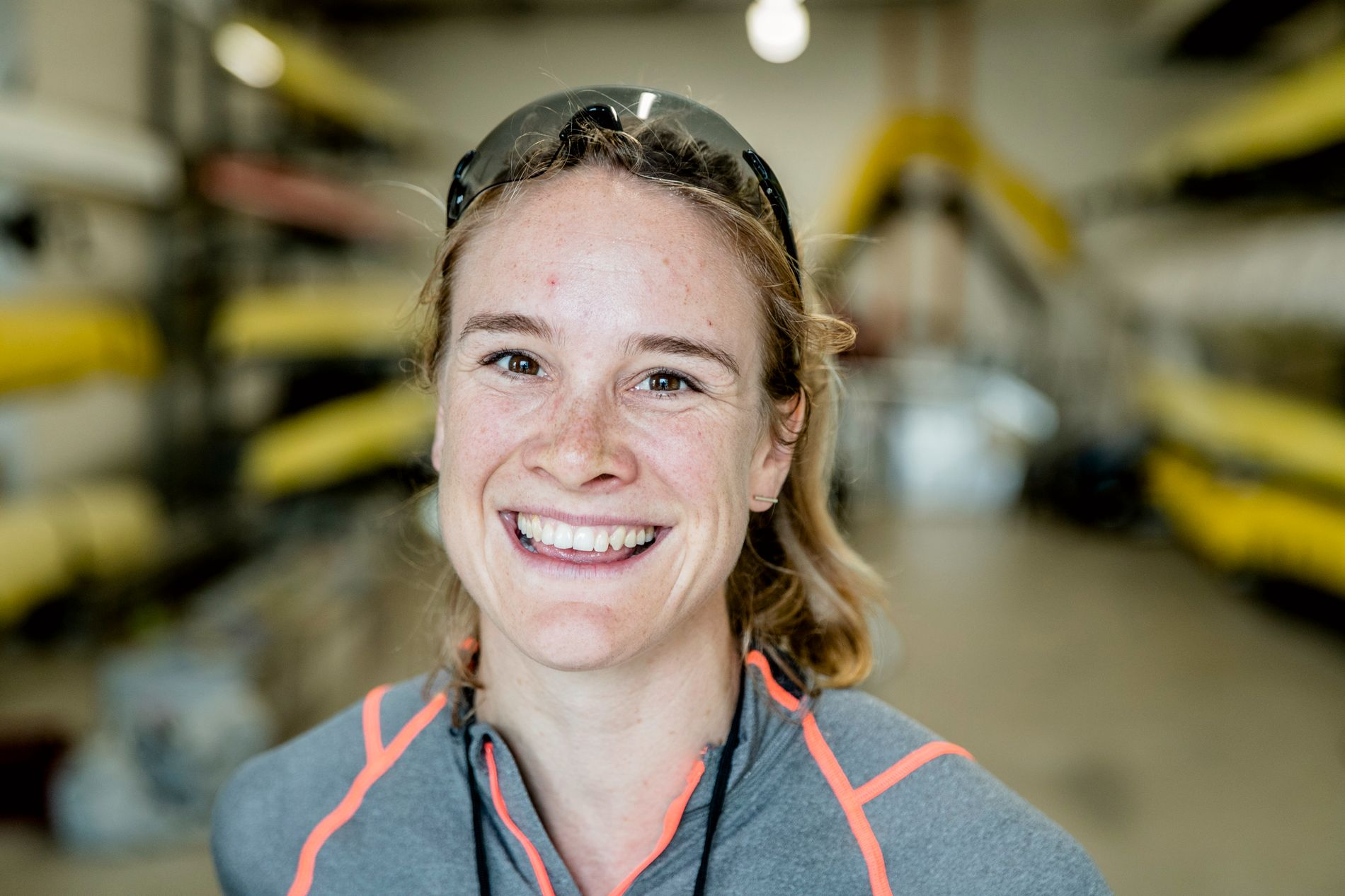 GLEDE: Birgit Skarstein mener at man bør til å glede seg over på at man har en frisk, funksjonell kropp, fremfor å bekymre seg for hvordan den ser ut.
