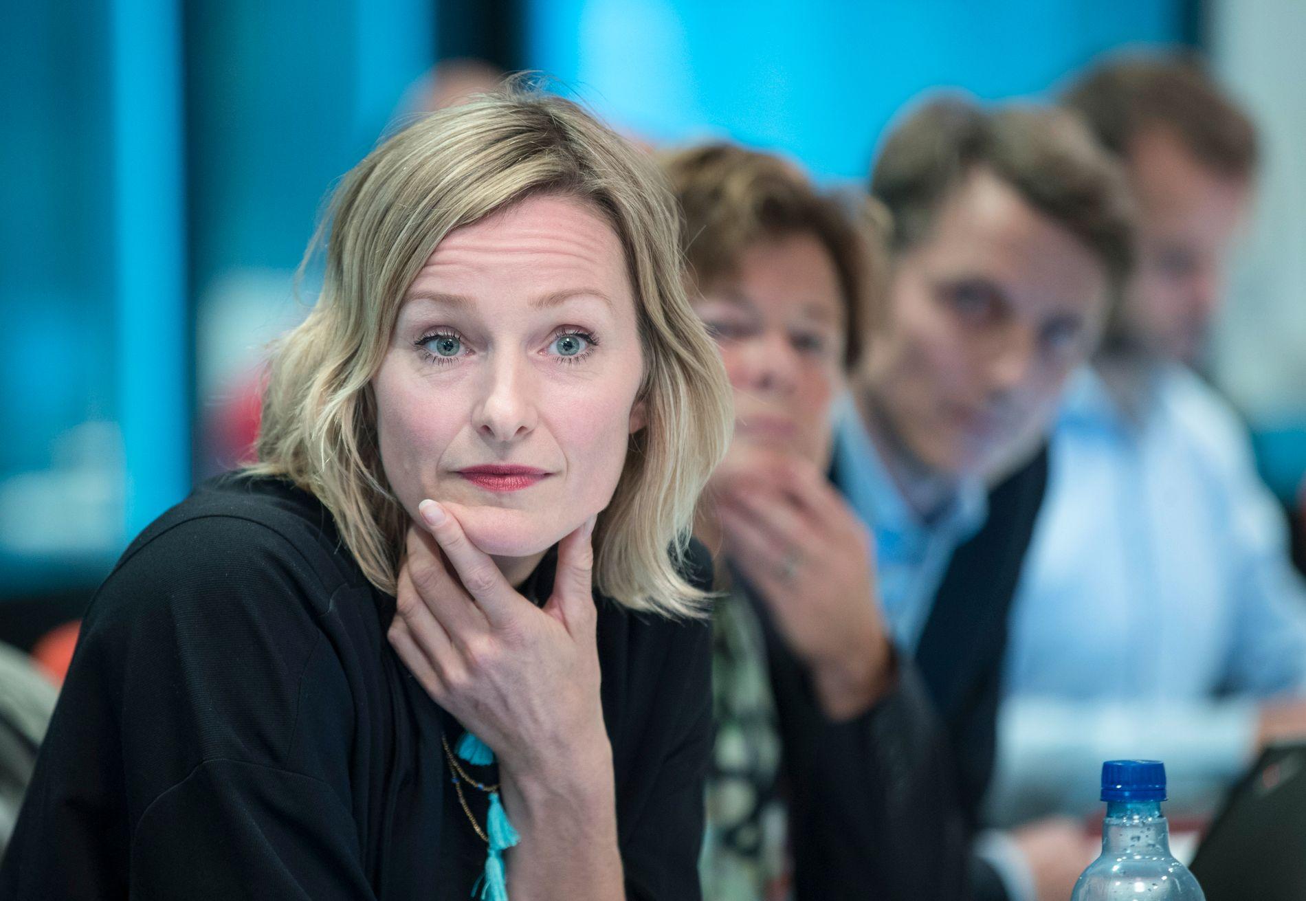 Nok et varsel er sendt inn mot byråd for oppvekst og kunnskap Inga Marte Thorkildsen (SV) i Oslo. Foto: Vidar Ruud / NTB scanpix