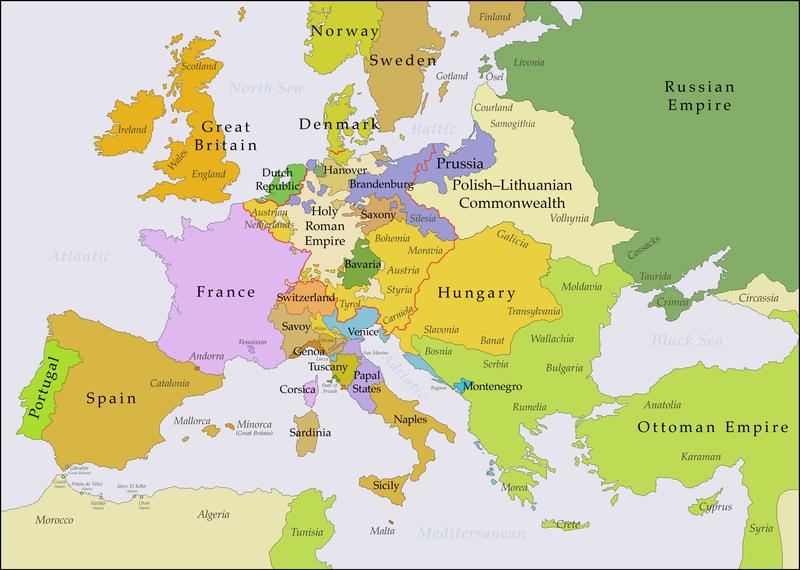 GAMLE GRENSER: – Dersom «gjenerobring» er eit gyldig argument, kan det bli livleg i Europa framover, skriv Morten Myksvoll.
