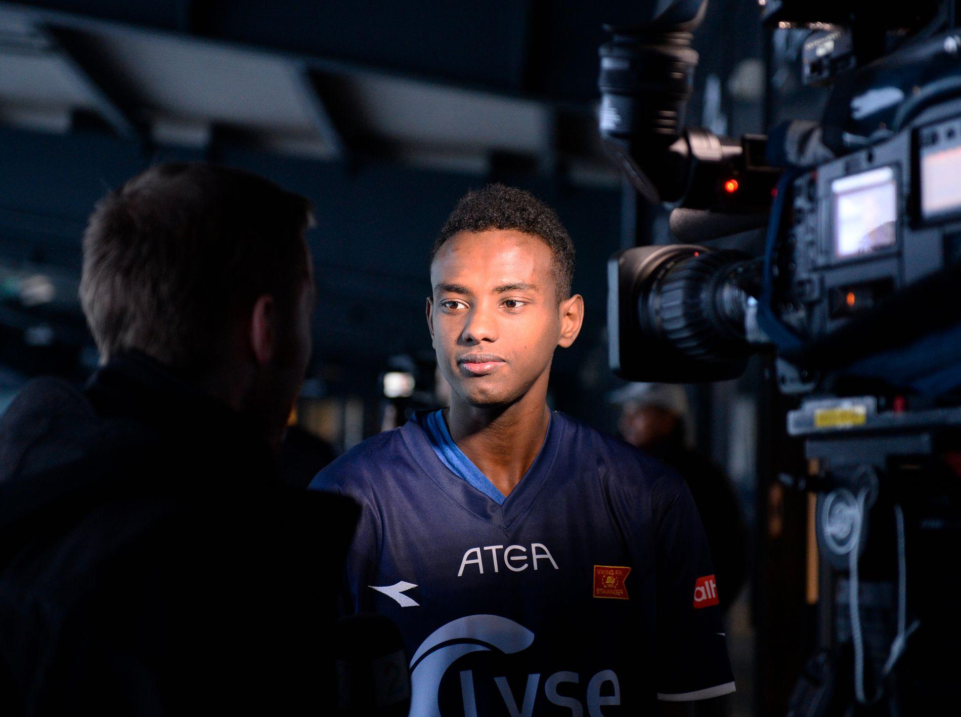 Tidligere Viking-, Godset- og Vålerenga-spiller Abdisalam Ibrahim skal tilbringe de neste seks månedene i Riga FC.