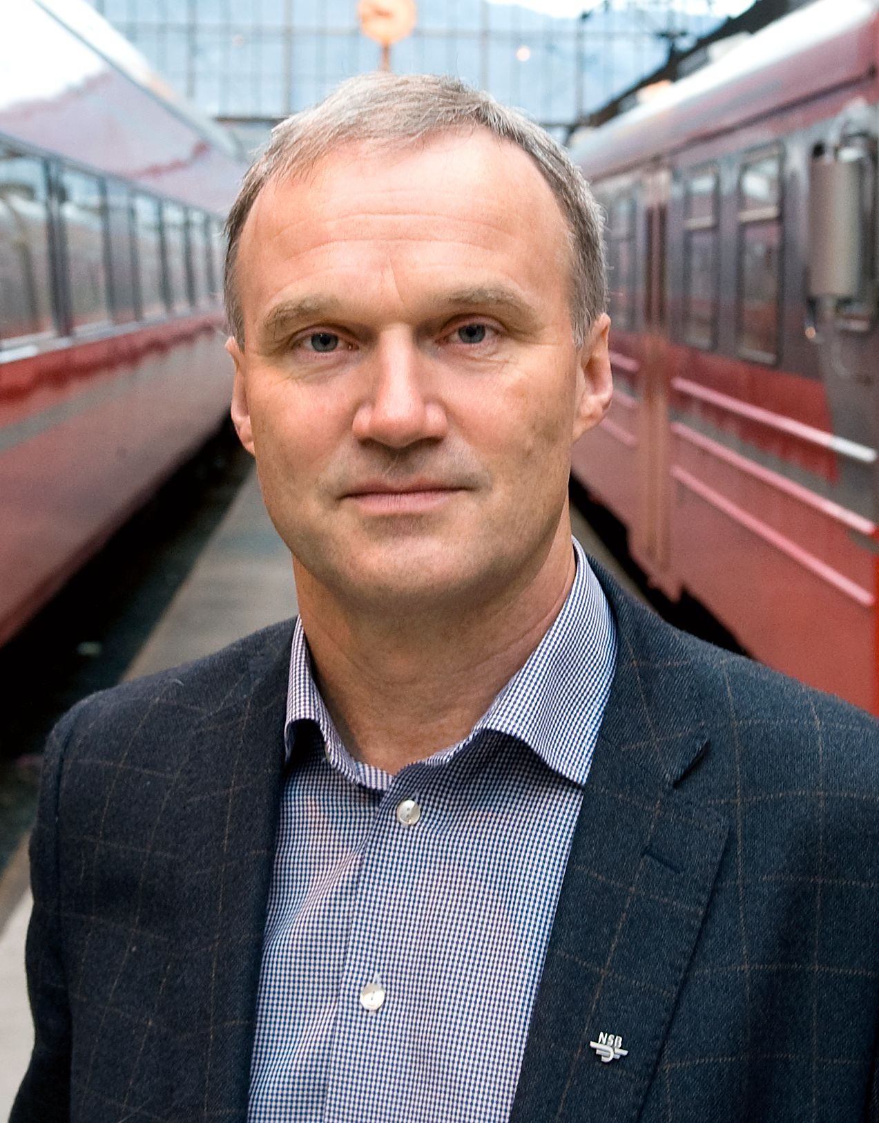 Konsernsjef Geir Isaksen