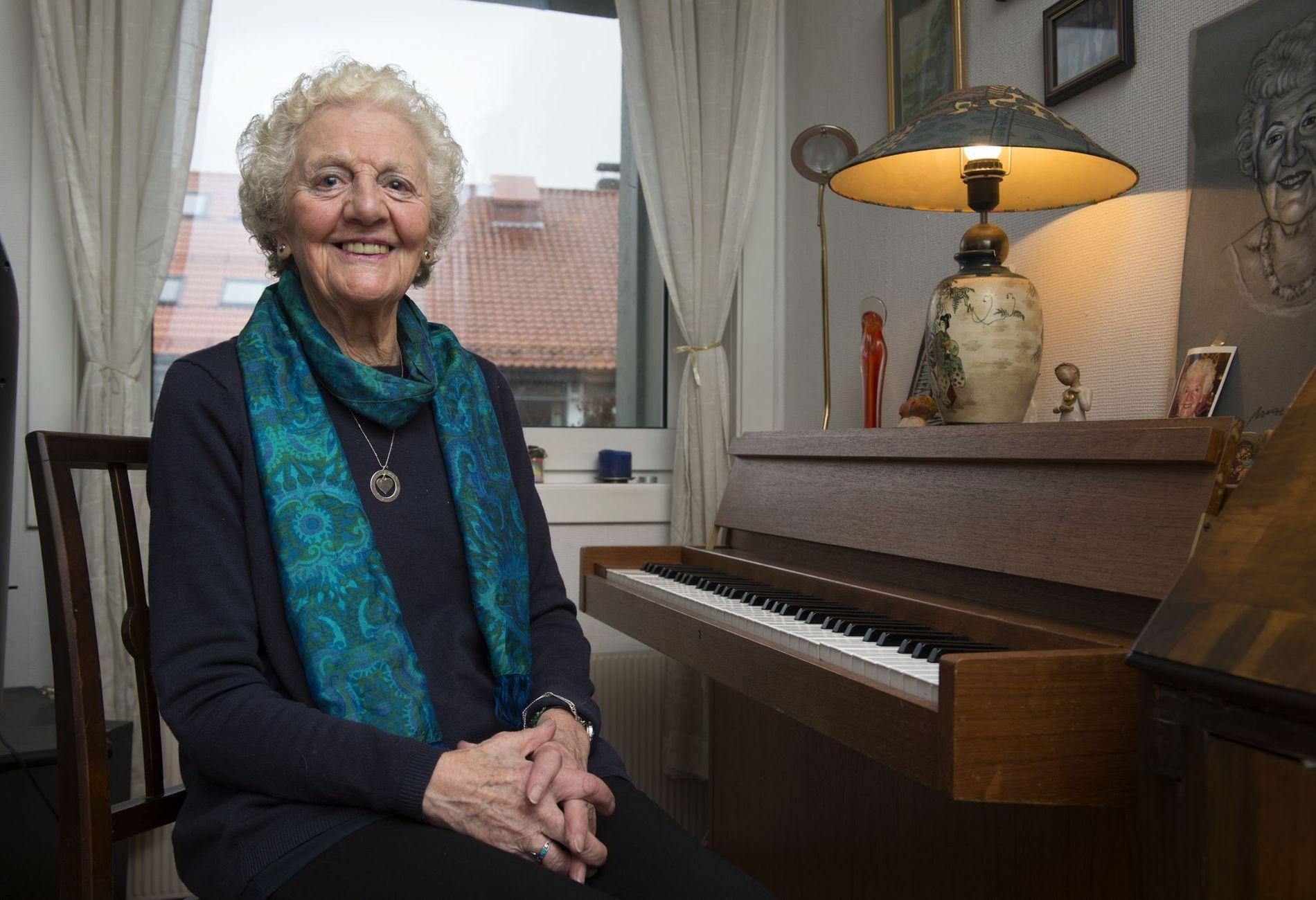 Rosemary Lund kom til Bergen i 1963.