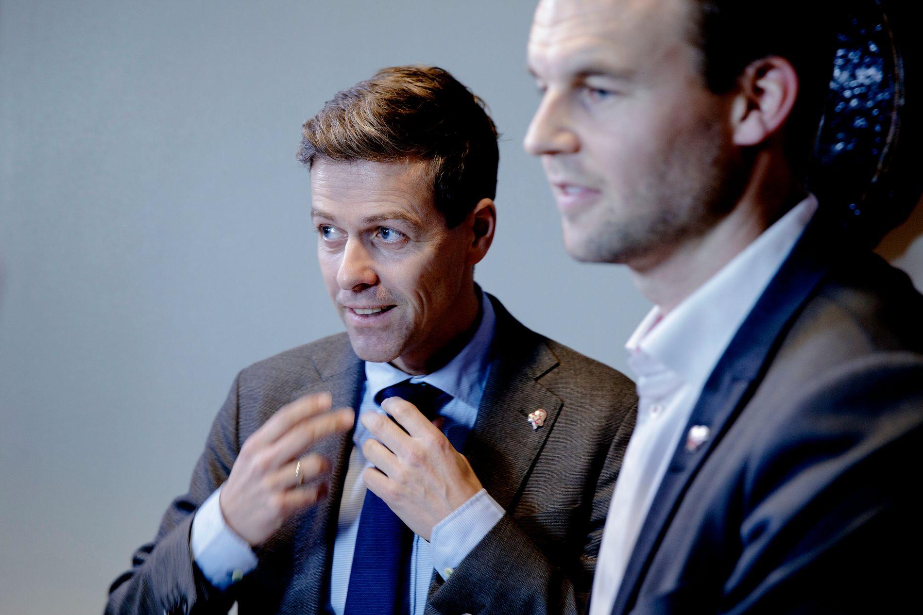 SPLITTET: Hareide og Ropstad er dypt uenige om partiets retningsvalg.