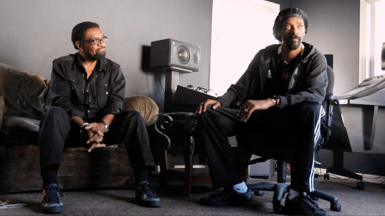 MEMPHIS: William Bell og Snoop Dogg i en scene fra Biff-aktuelle «Take Me To The River».
