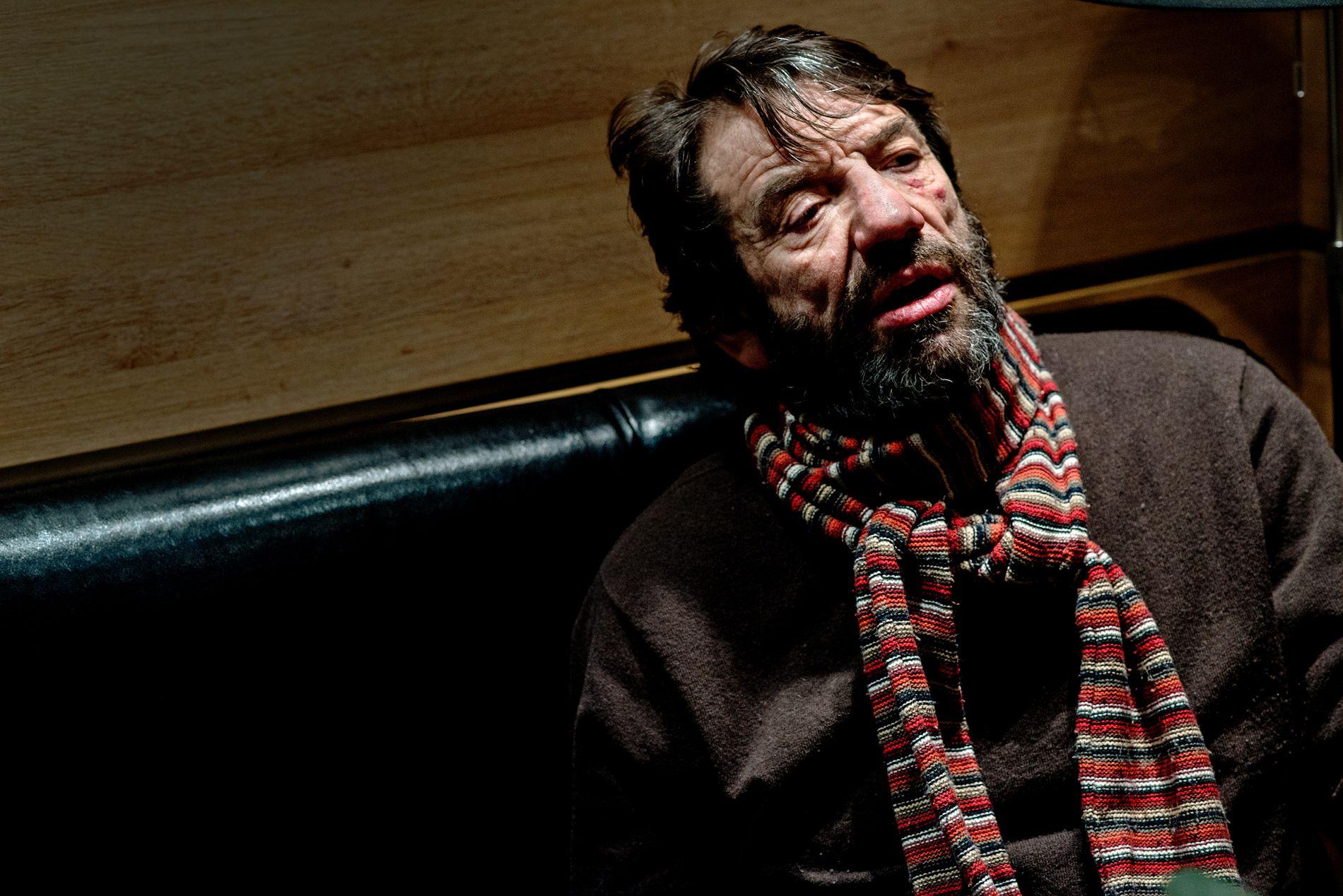 SJELDEN: Skuespiller Helge Jordal sier at Wenche Kvammes død er et stort tap for teateret.
