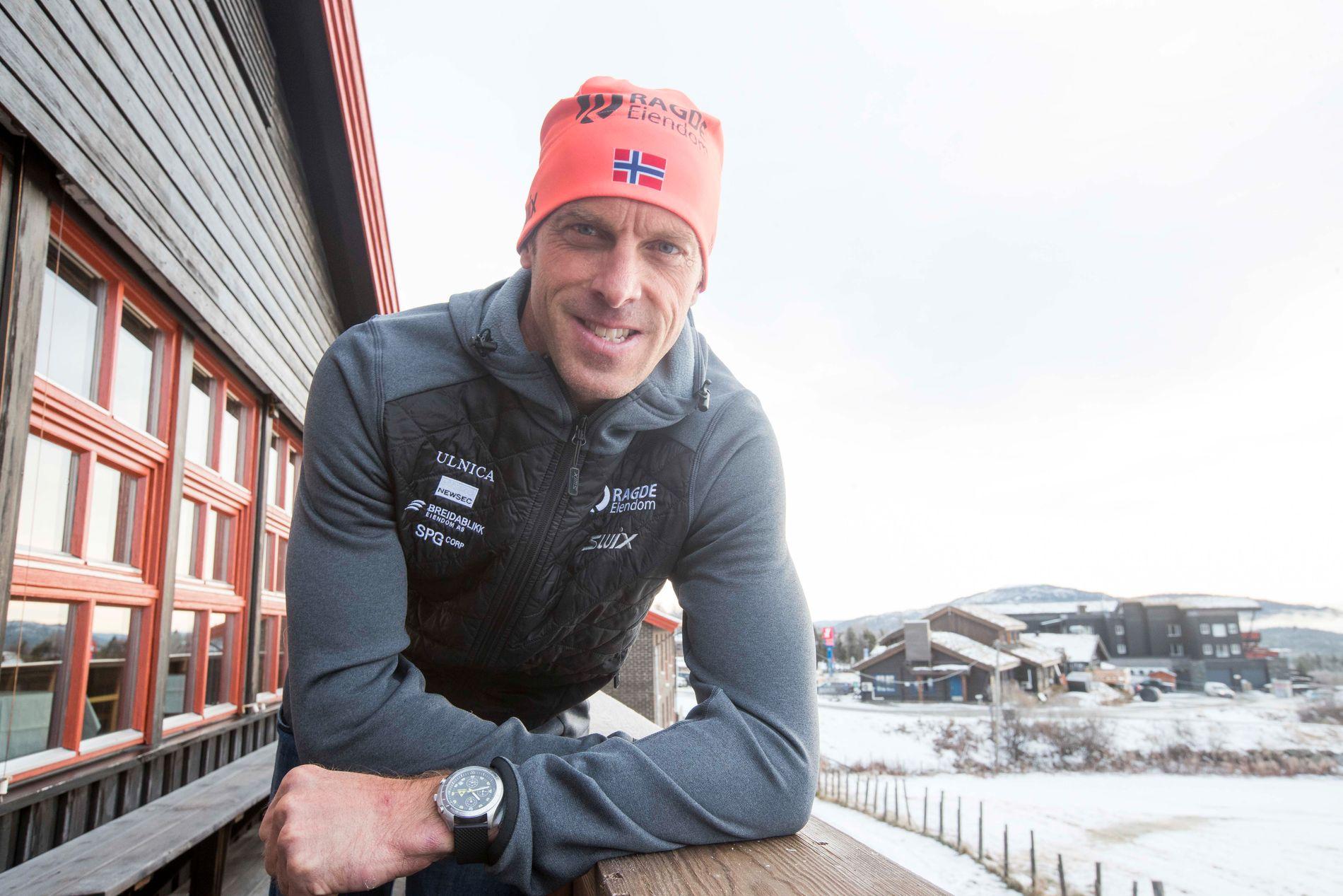 Anders Aukland skal prøve seg i Lysebotn Opp staking.