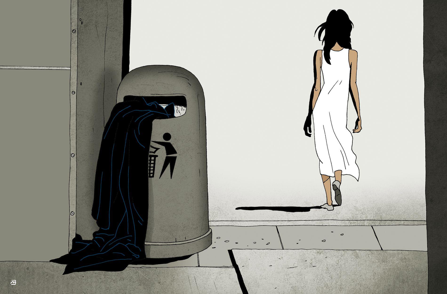 Illustrasjon: Marvin Halleraker