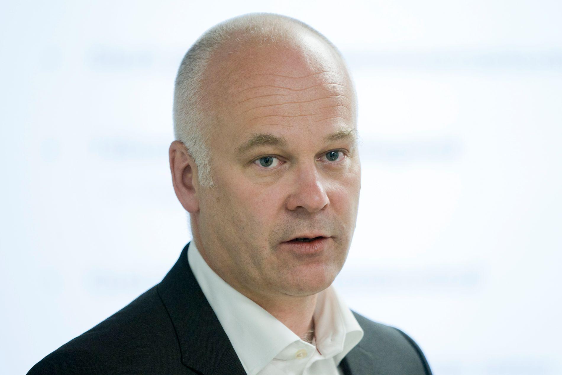 Kringkastingssjef Thor Gjermund Eriksen