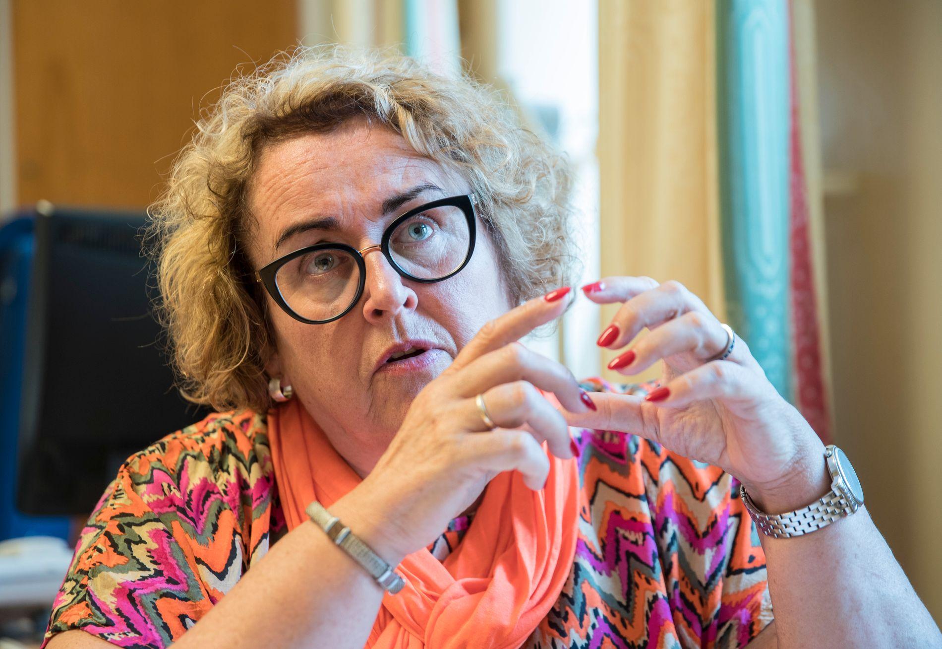 FORSVARER ORDNINGEN: Olaug Bollestad (KrF) anklager BT for feilslutninger om kontantstøtten.