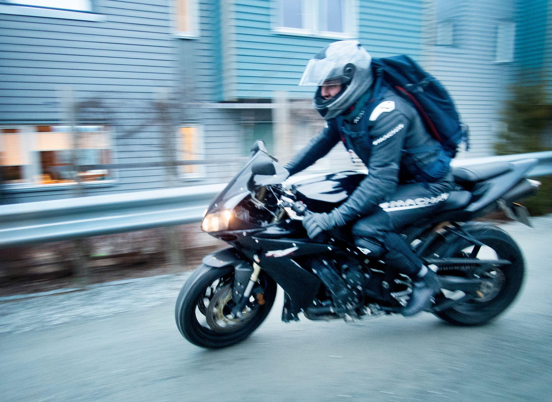 MOTORSYKLER: Det blir også billigere å importere motorsykler.