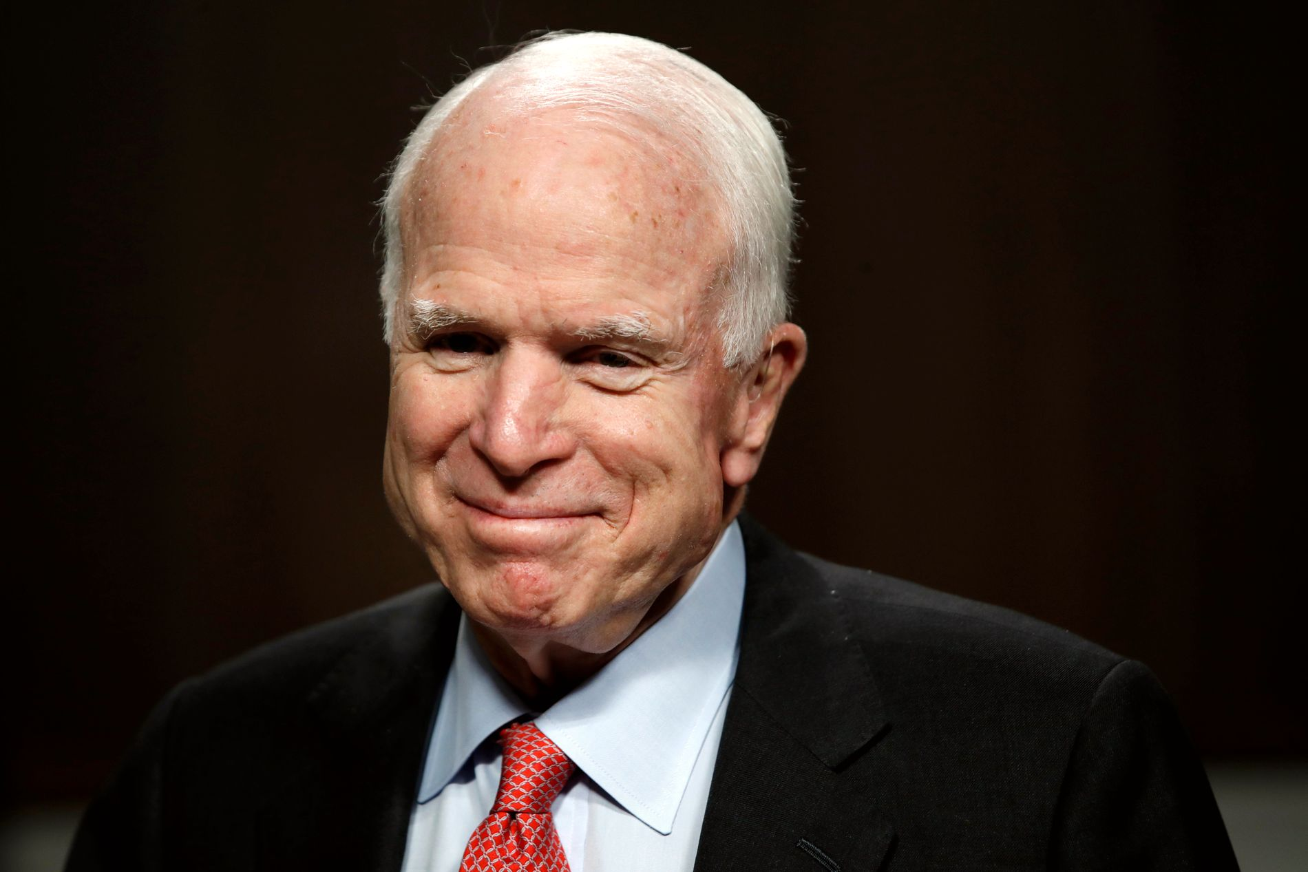 TILBAKE: John McCain ser frem til å være tilbake i Senatet tirsdag.
