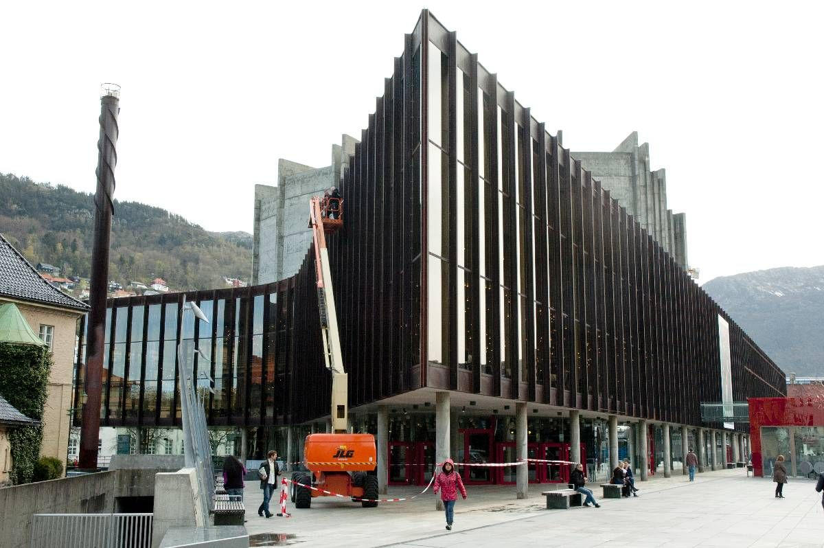 BUDSJETTVINNER: Dersom staten og Bergen kommune følger opp med nødvendige bevilgninger kan arbeidet med å ruste opp Grieghallen starte neste år.