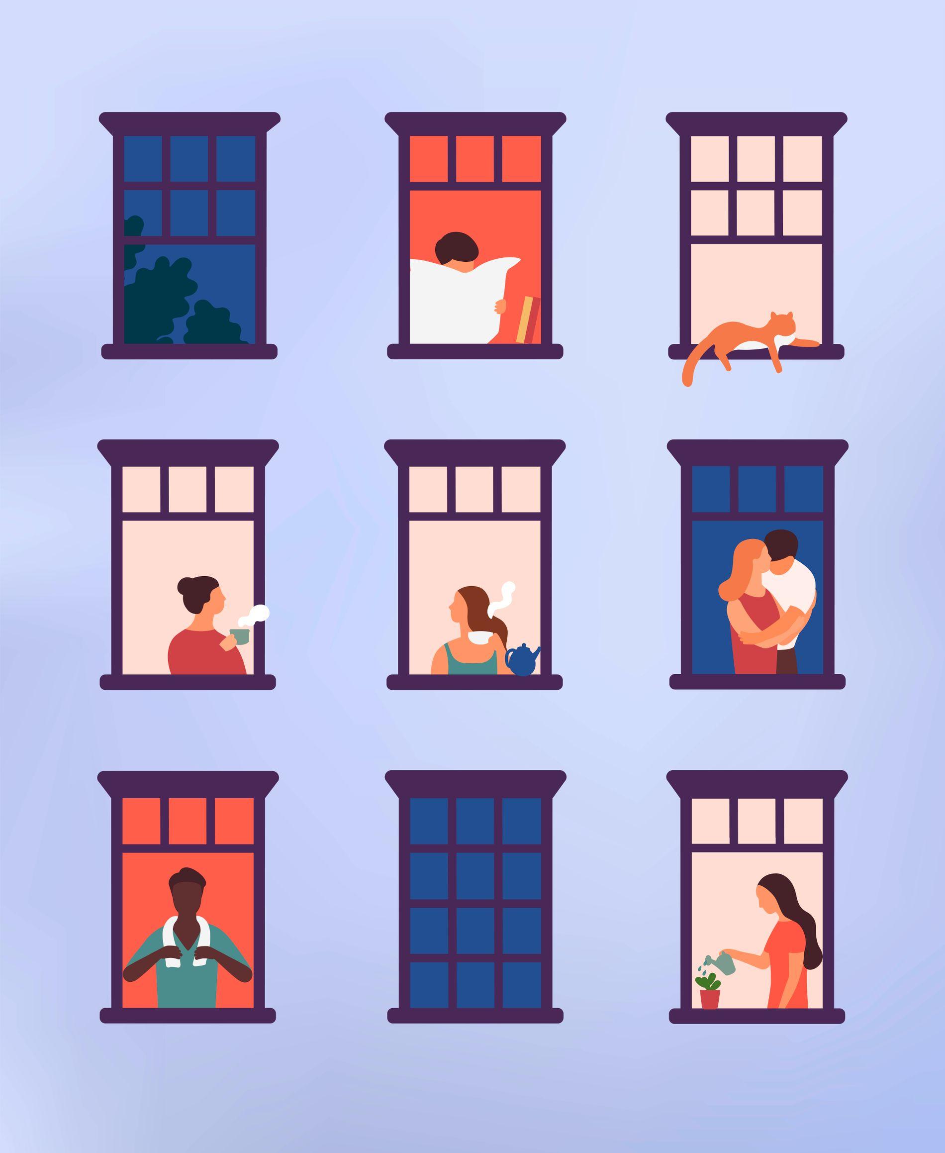 GODT NABOSKAP: Kjernen i mange nabokonflikter er at vi føler oss krenket eller ydmyket, skriver innsenderen, som gir flere gode råd for å unngå problemet. Illustrasjon: Shutterstock