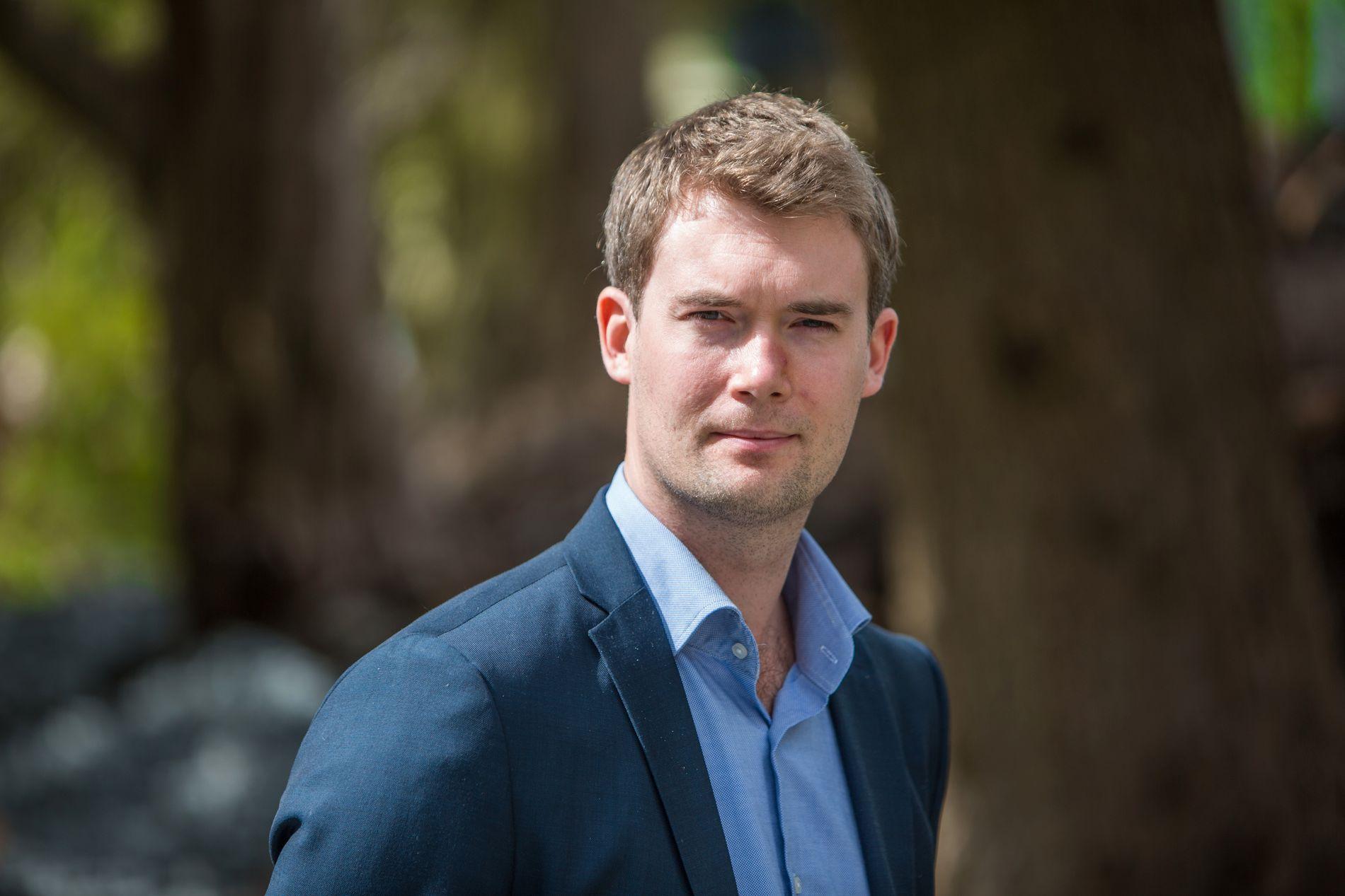 SLITER: Erlend Horn, førstekandidat for Venstre, får bare 3,1 prosents oppslutning på denne målingen.
