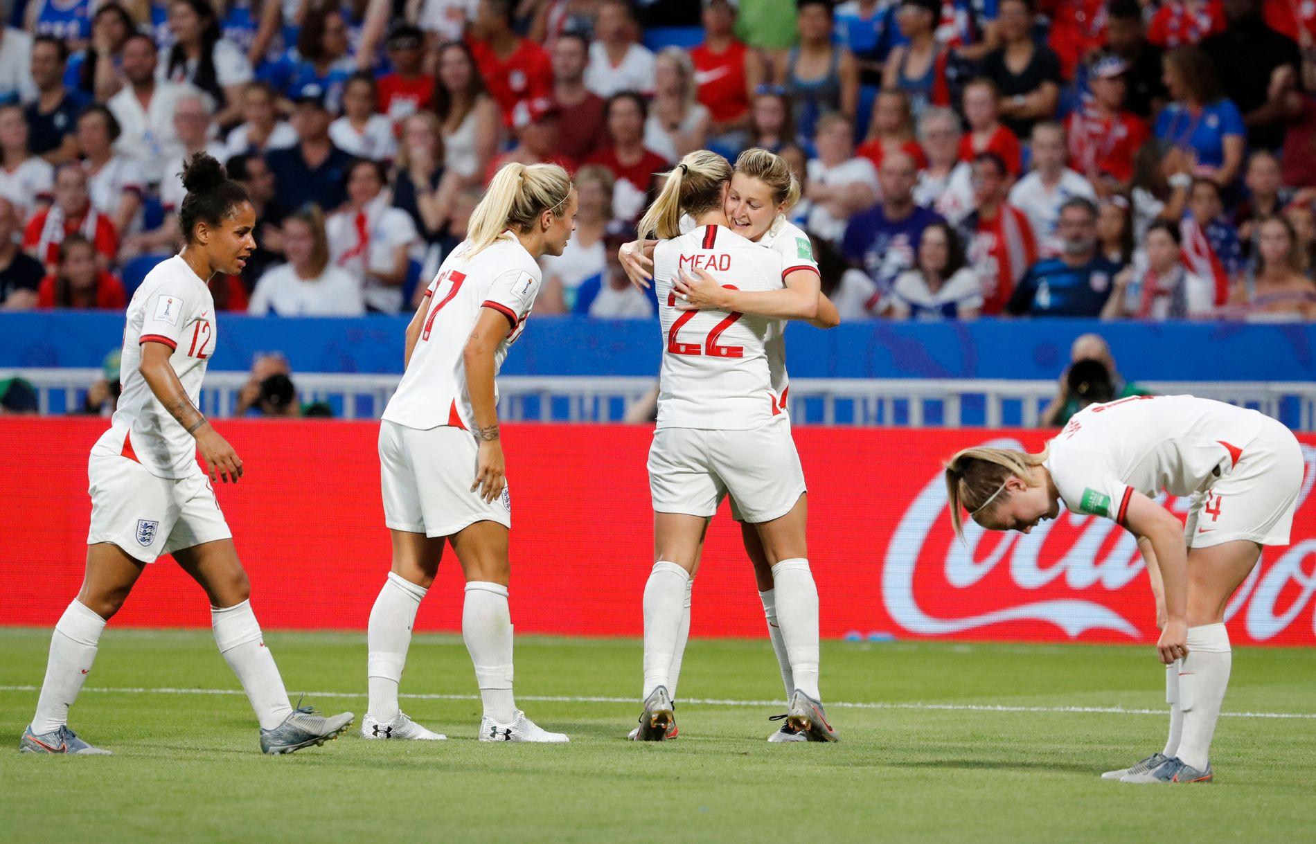 Ellen White scoret Englands mål.