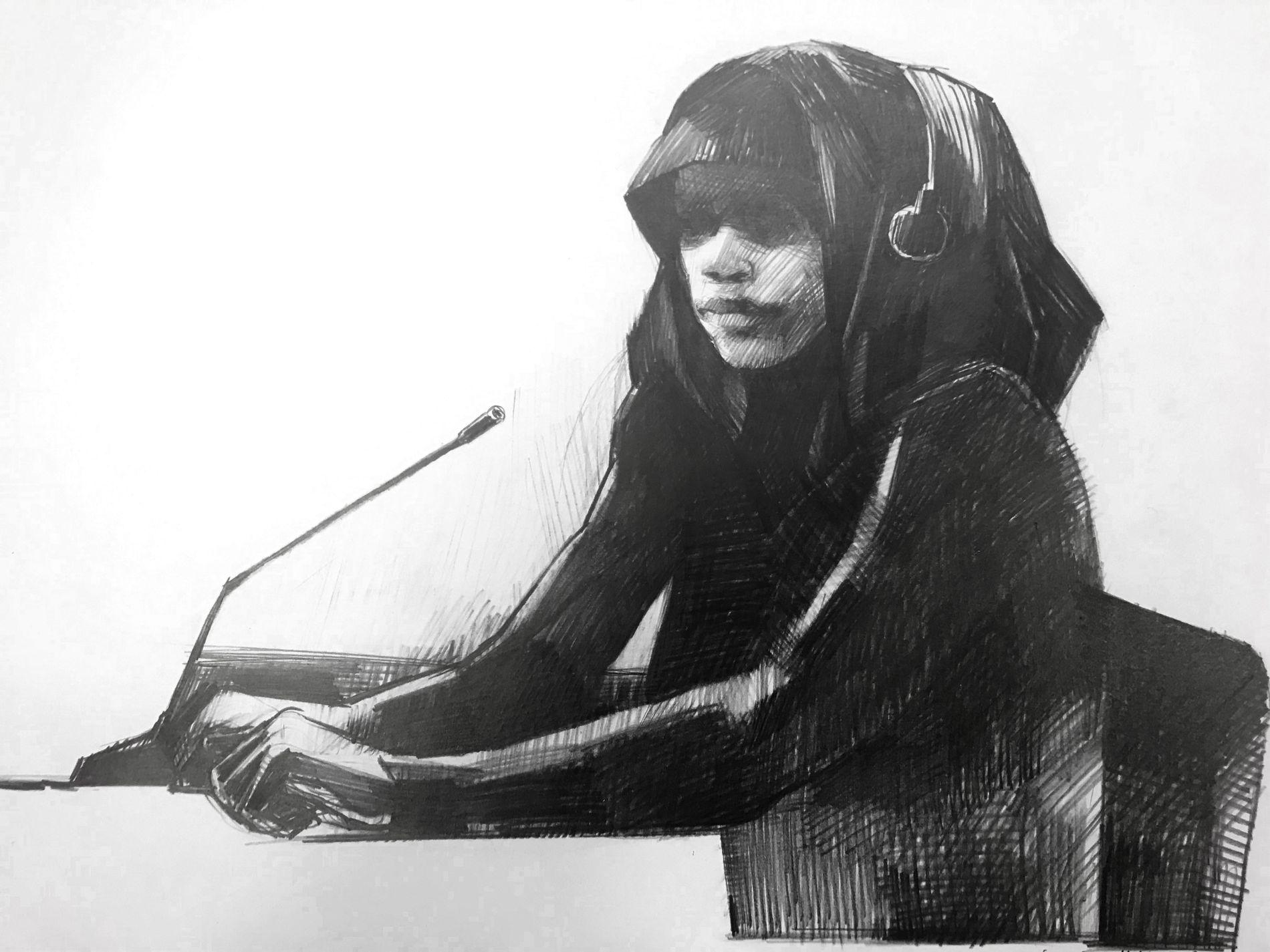 BLE IKKE TRODD: Kvinnen som var siktet for IS-deltakelse ble ikke trodd på sine mange historier om hvor hun skulle reise.