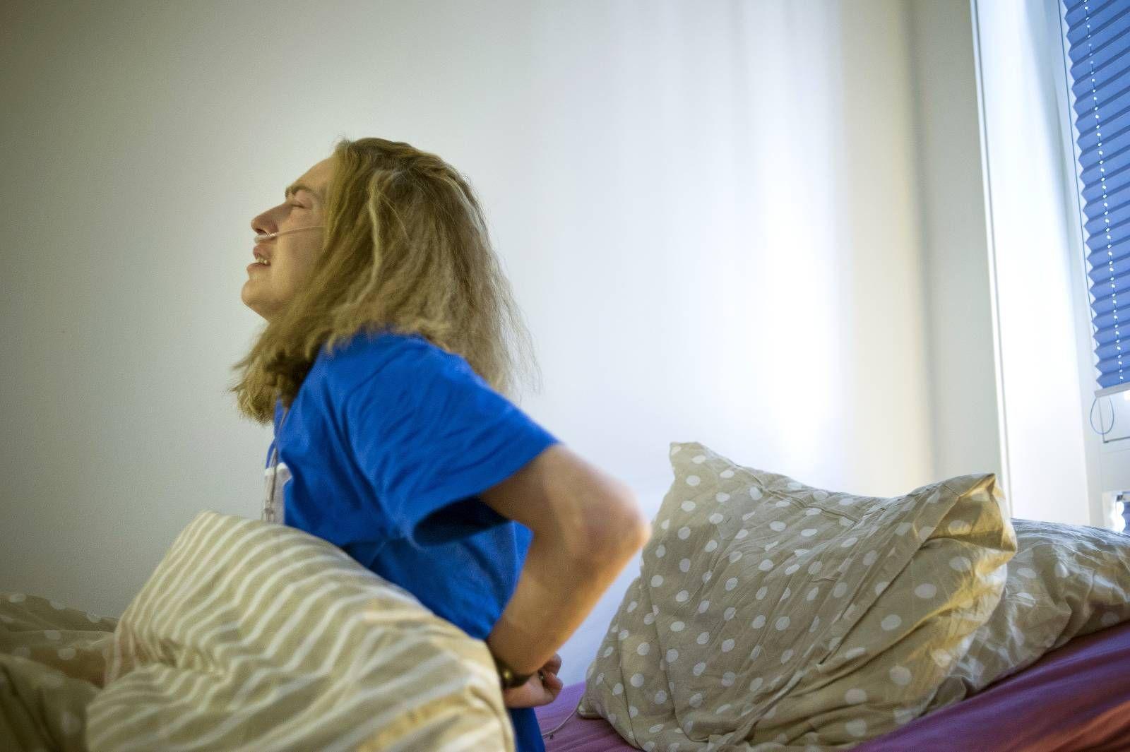 KJEMPET: Siv Tove Pedersen (41) fikk flere ganger beskjed om at hun var uegnet for lungetransplantasjon fordi hun gikk på metadon.