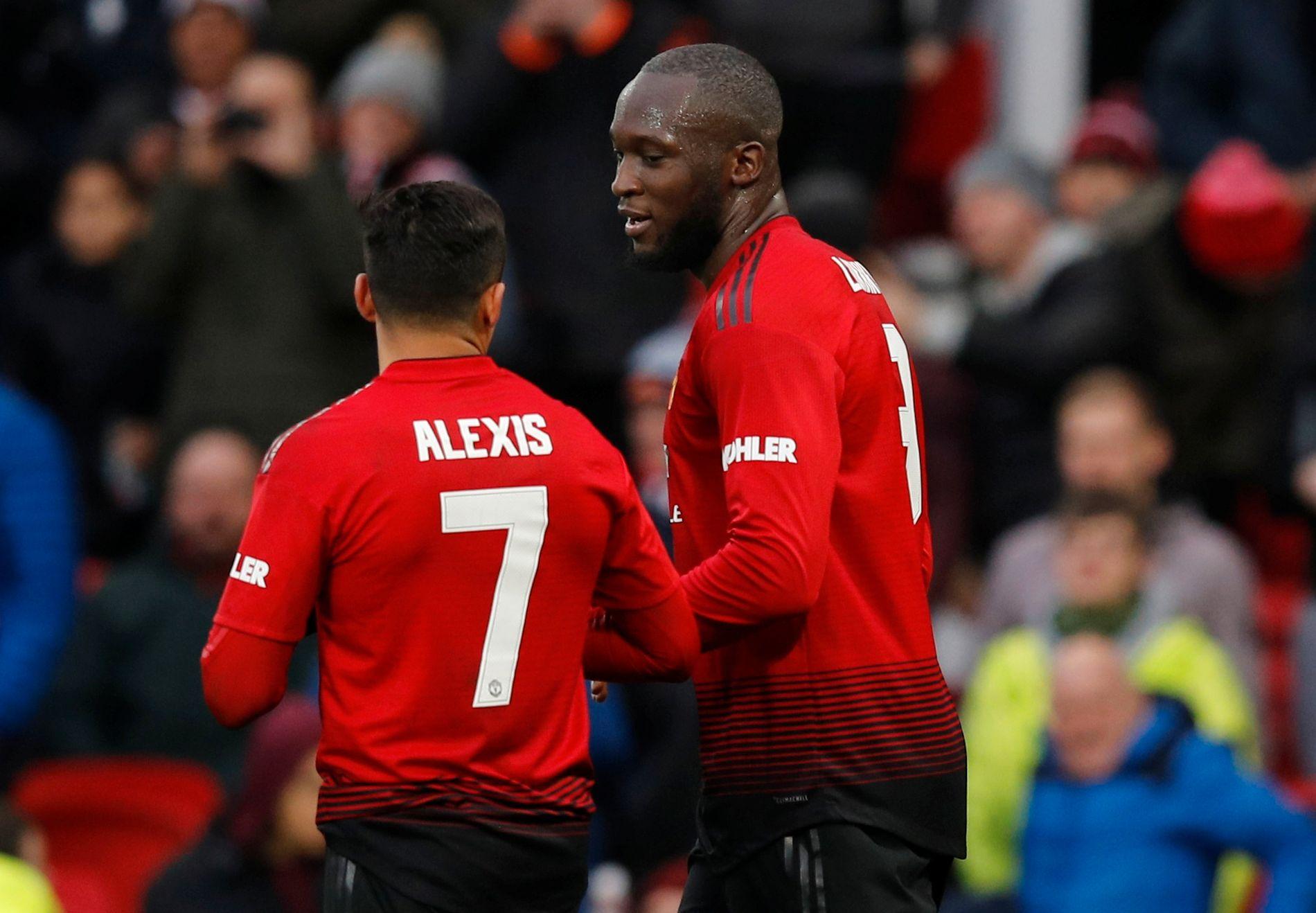 Alexis Sánchez og Romelu Lukaku fikk sjansen sammen og utnyttet den godt.