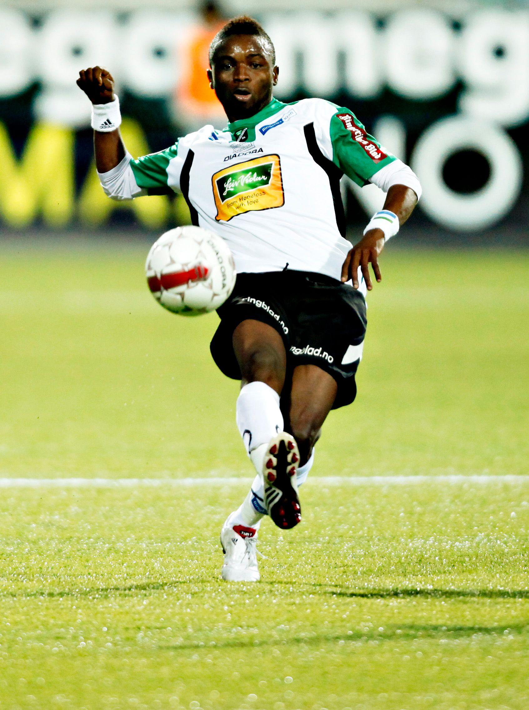 Bangura spilte fem sesonger for Hønefoss.