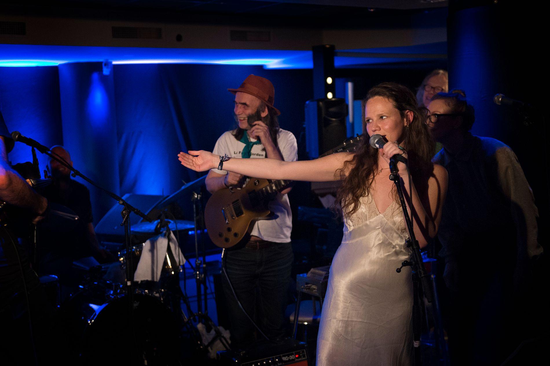 I STORSLAG: Maesa Pullman og The Last Hurrah! deltok på americanafestivalen i Bergen. Her fra Vossajazz i 2017.