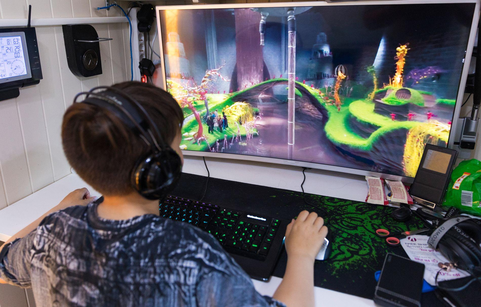 DATASPILL: Foreldre bør støtte barn som driver med gaming, mener Sivert Aarekol-Fjæra.