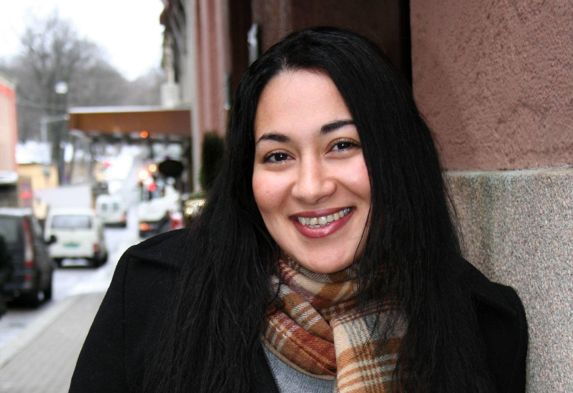 Sarah Natasha Melbye var tidligere programleder. I dag jobber hun i Juritzen forlag.