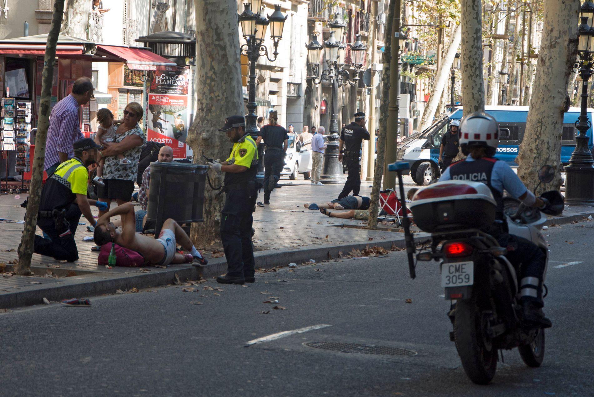 TERROR: IS har tatt på seg ansvaret for terroren på La Rambla i Barcelona.