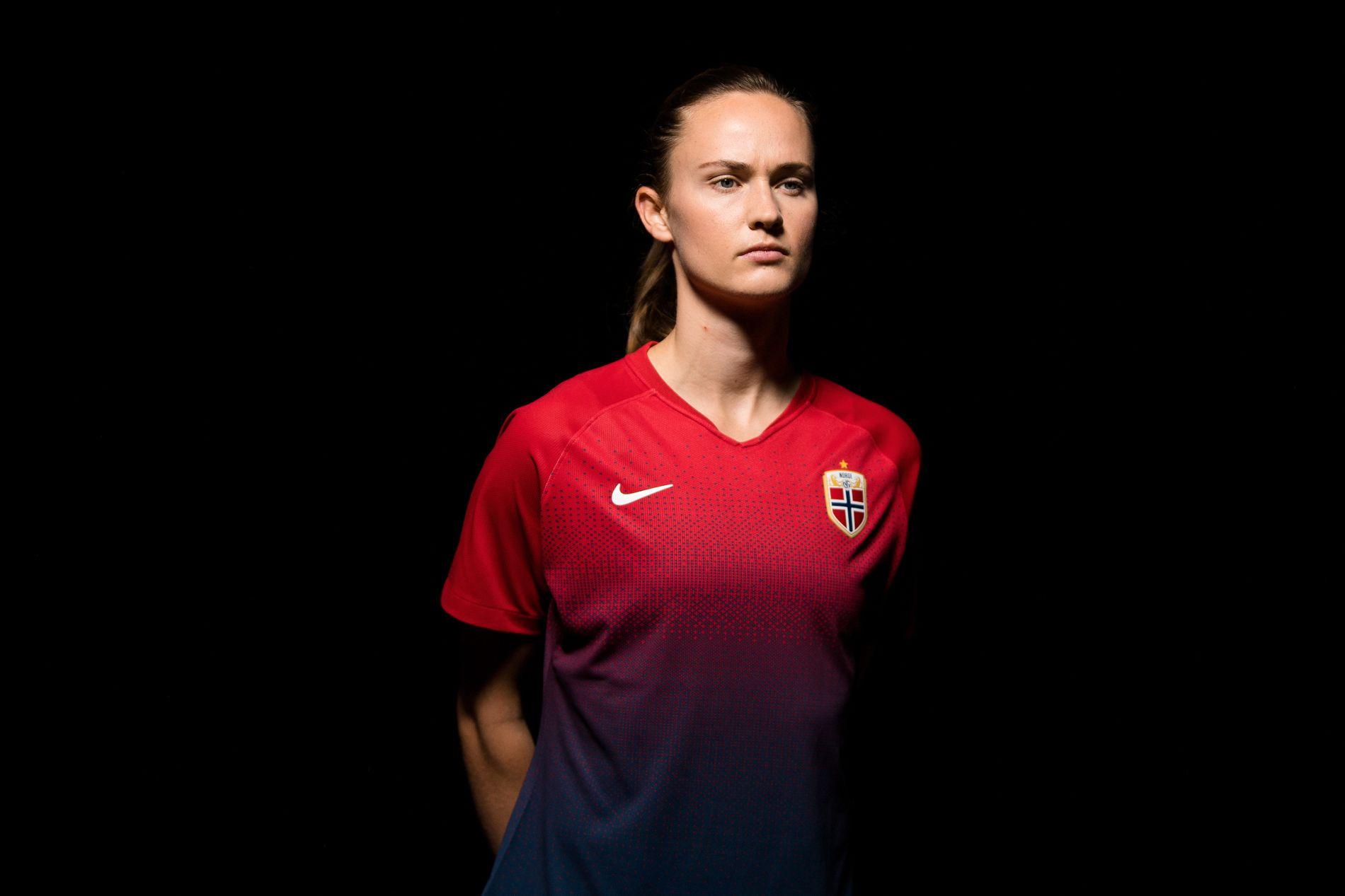 Caroline Graham Hansen spiller kvartfinale i fotball-VM for Norge torsdag.