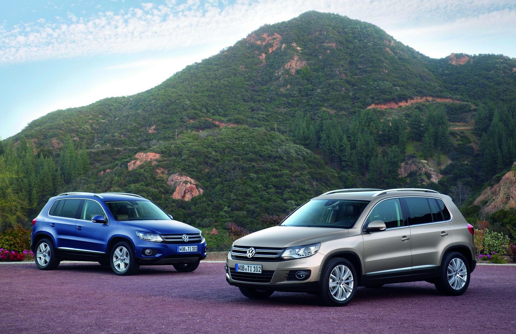 TIGUAN: Volkswagen Tiguan er en av mange modeller fra Volkswagen som har fuskemotoren, EA189, under panseret.