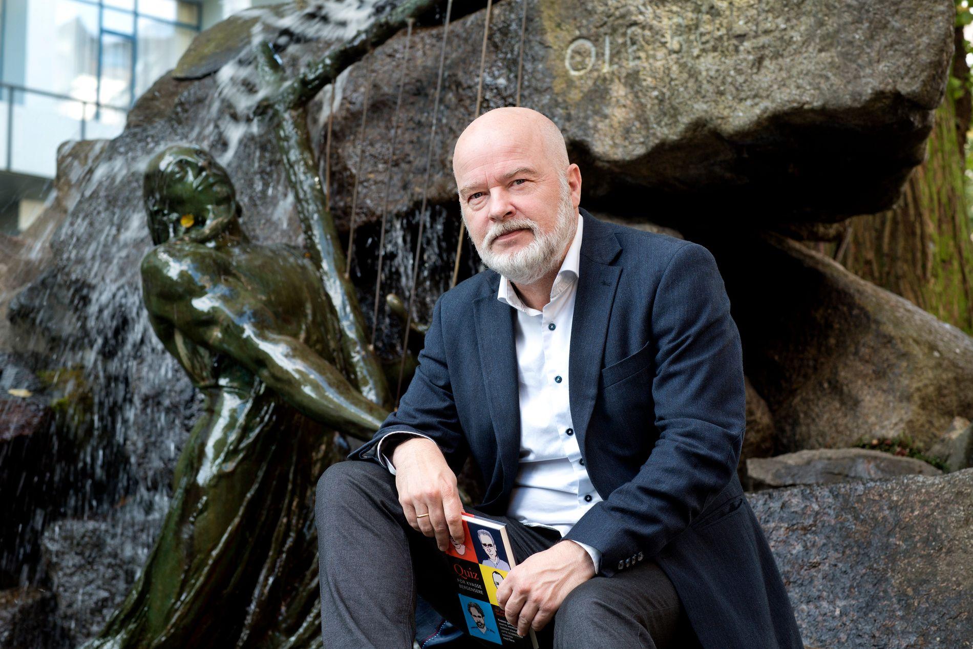 QUIZKUNSTNER: Jan Arild Breistein blir beskrevet som en ekstremt kunnskapsrik, fri og leken mann.