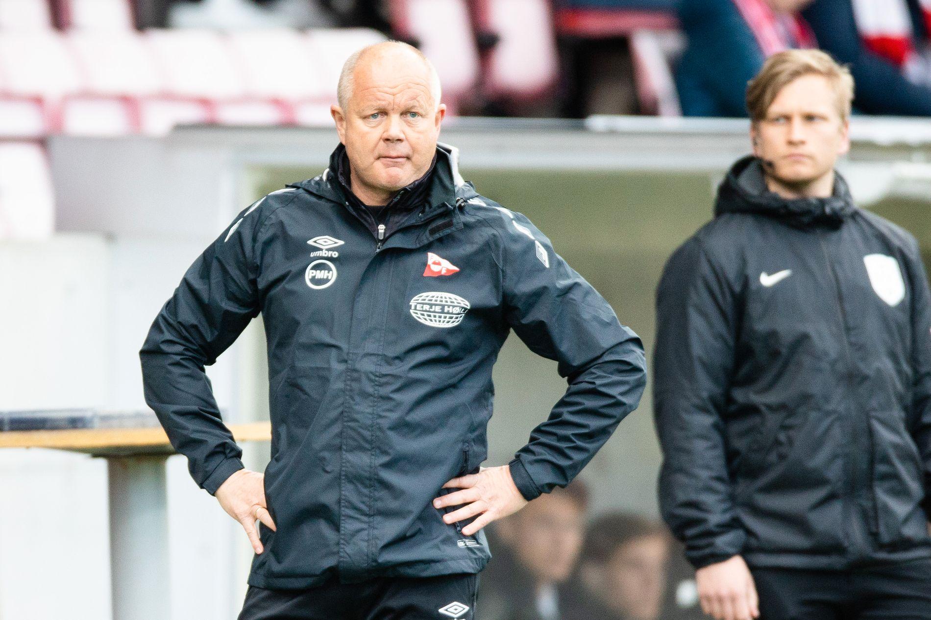 Per-Mathias Høgmo og FFK tapte i Raufoss.