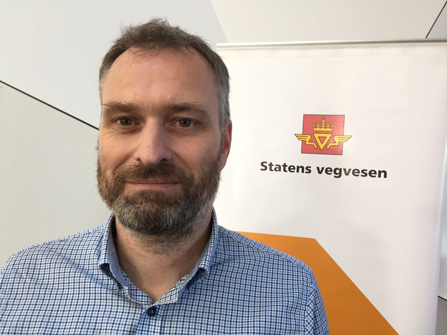 Kjell Håvard Belsvik, prosjektleder for kryssing av Bjørnafjorden (Stord-Os) på E39.
