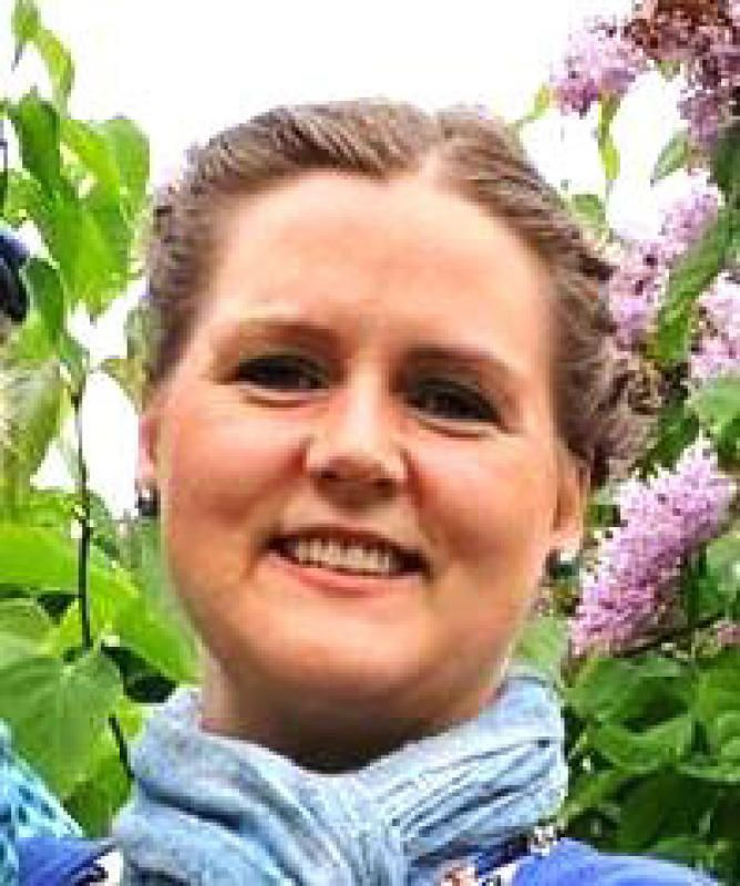 SMÅBARNSMOR:  Katja Elisabeth Holm Östling døde i en trafikkulykke  27. juli i Sverige. Hun etterlater seg mann og tre gutter.
