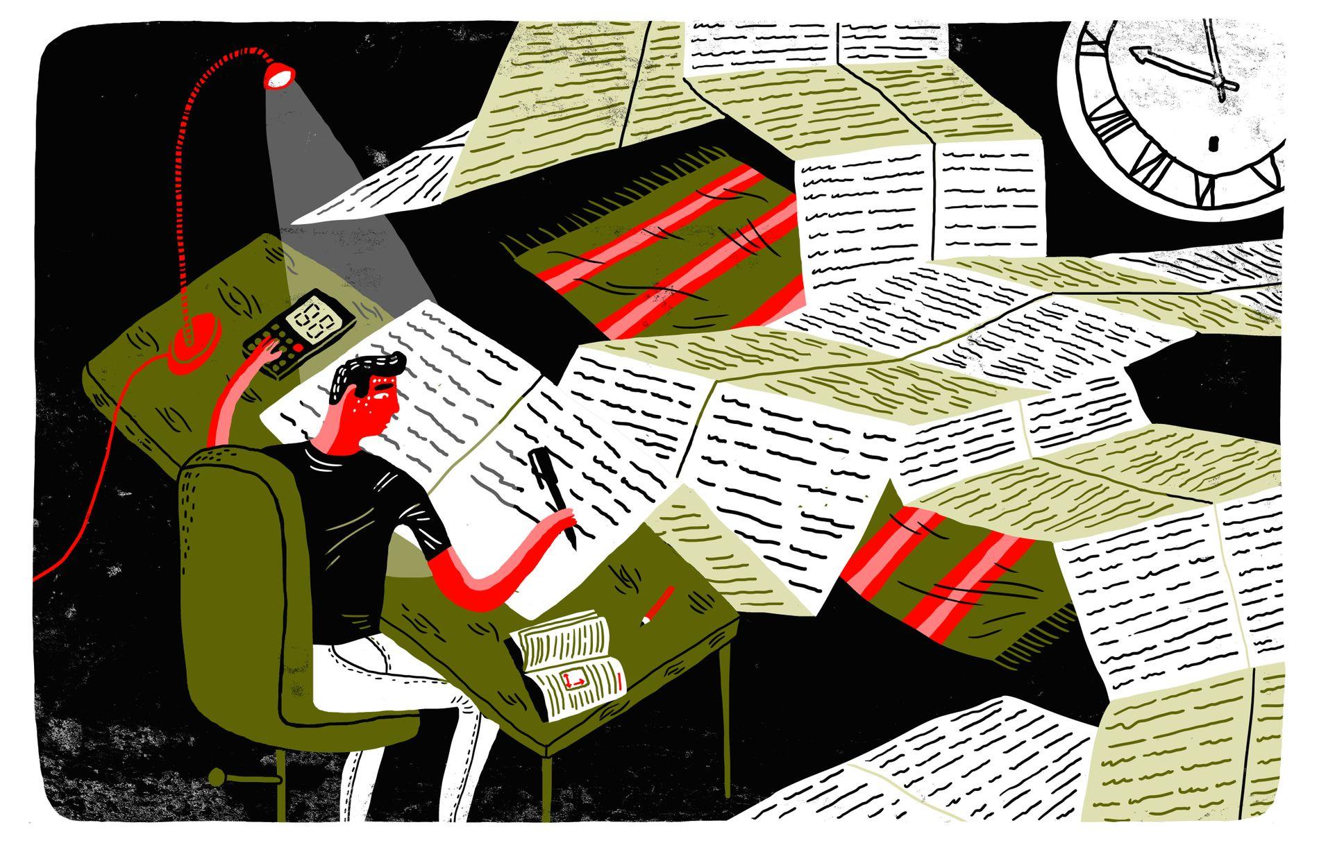 TRADISJON: I mine øyne er lekser mer en tradisjon enn noe annet, skriver innsenderen.
