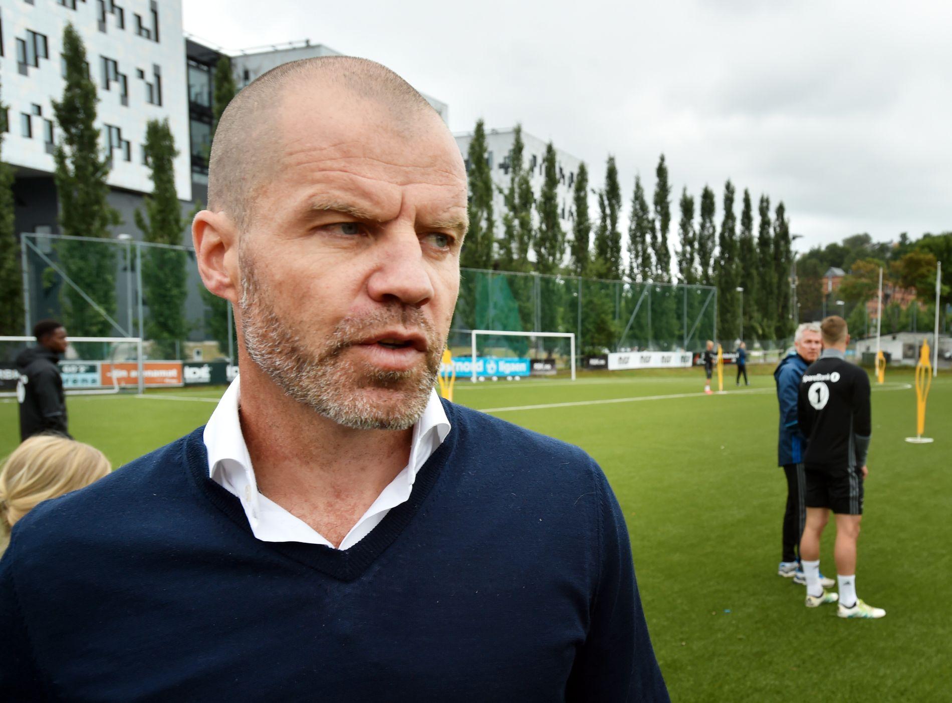 HENTER NYE SPILLERE: Rosenborgs sportslige leder Stig Inge Bjørnebye.