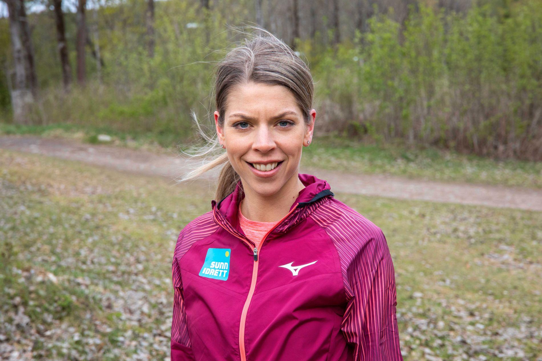 Marianne Strand-Udnæseth jobber gjennom Sunn idrett for at utøvere skal få gode holdninger og ikke la seg påvirke av kroppspress.