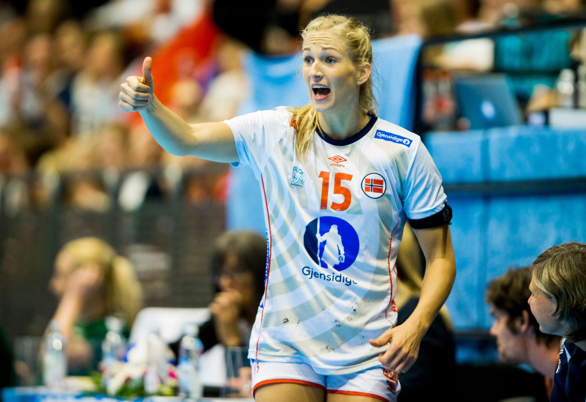 TILBAKE: Linn Jørum Sulland blir med Norge til EM i Frankrike.