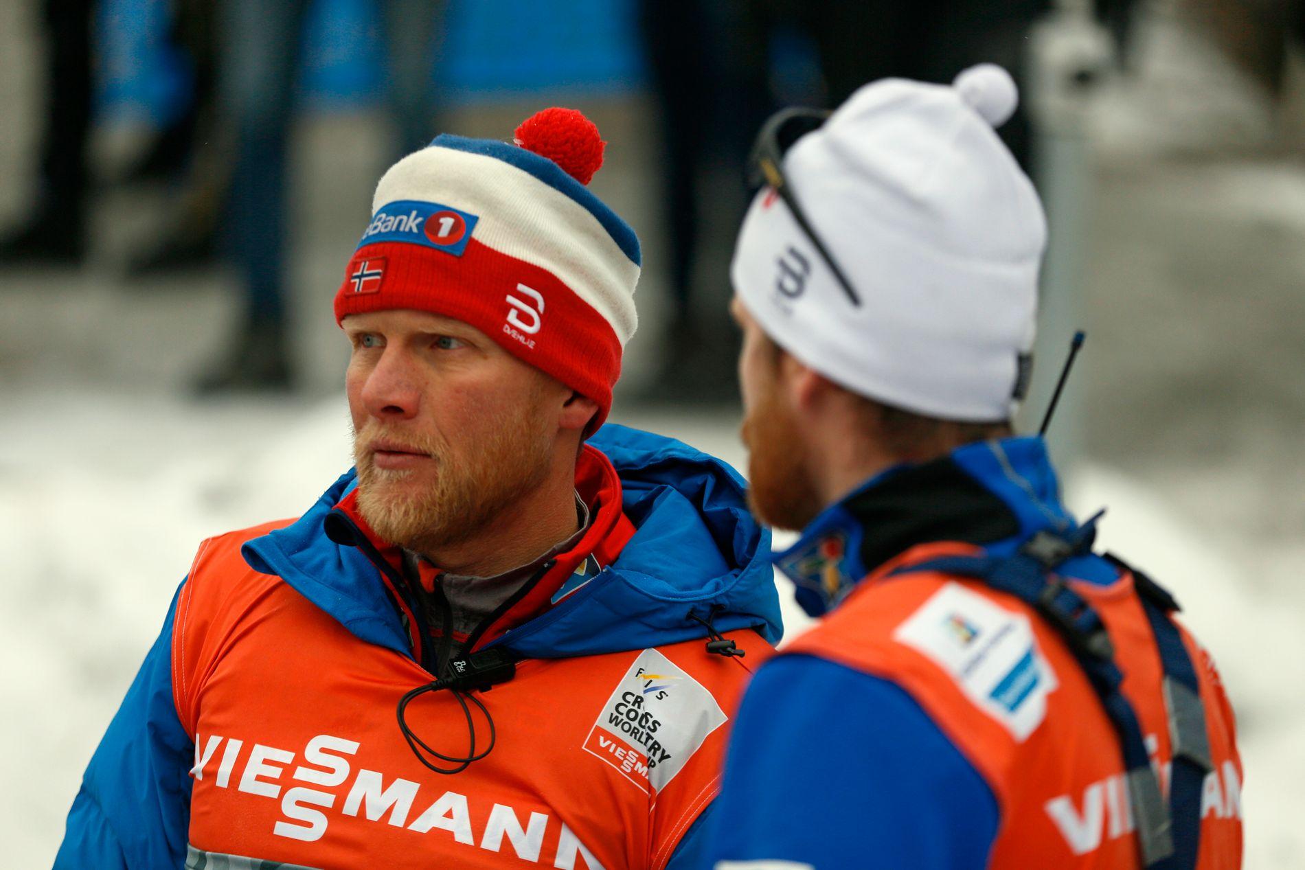 LANDSLAGSTRENER: Tor Arne Hetland får en utfordrende oppgave når han skal ta ut den norske troppen til VM. Per i dag er det høyst usikkert om Petter Northug blir en del av det norske laget.