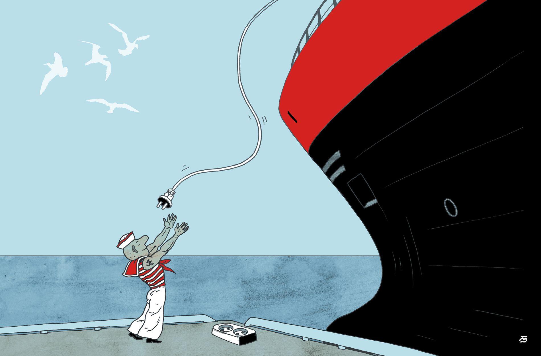 ELEKTRISK: Om få år kan vi få elektriske snøggbåtar som går like langt og raskt som dagens dieselslukarar. Det illustrerar at mykje av svaret på klimakrisa ligg i norsk industri. Det bør regjeringa gjere meir for å støtte opp om, skriv BT-kommentator Hans K. Mjelva.
