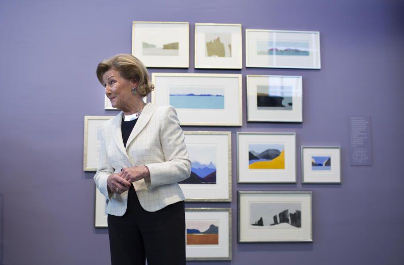 ÅPNET PERMANENTEN: Utstillingen bekreftet først og fremst at Sonja ikke er blant landets fremste kunstnere, og dermed at det ikke var faglige kriterier som lå til grunn for utstillingen.