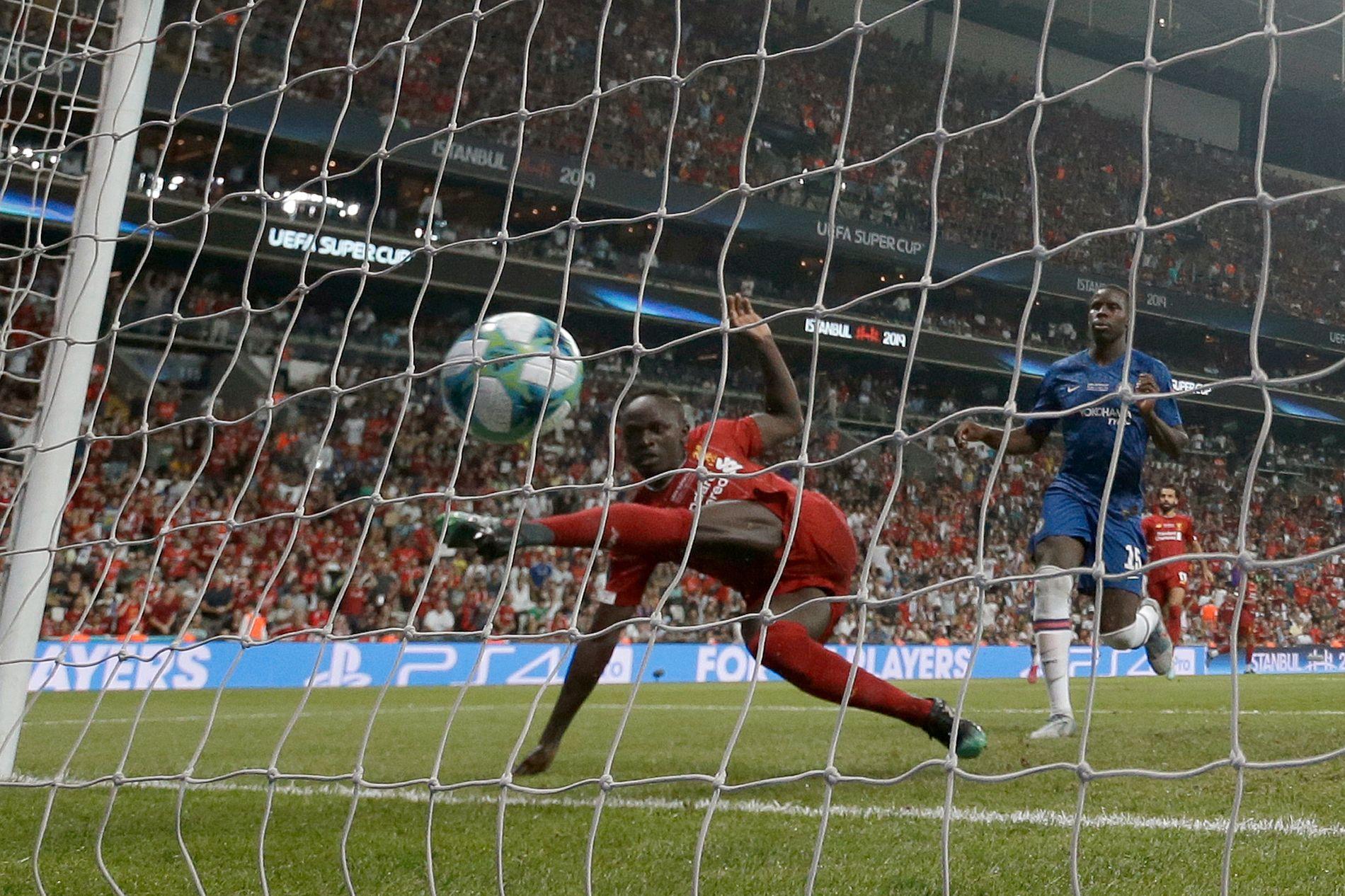 Mane scoret to mål for Liverpool.