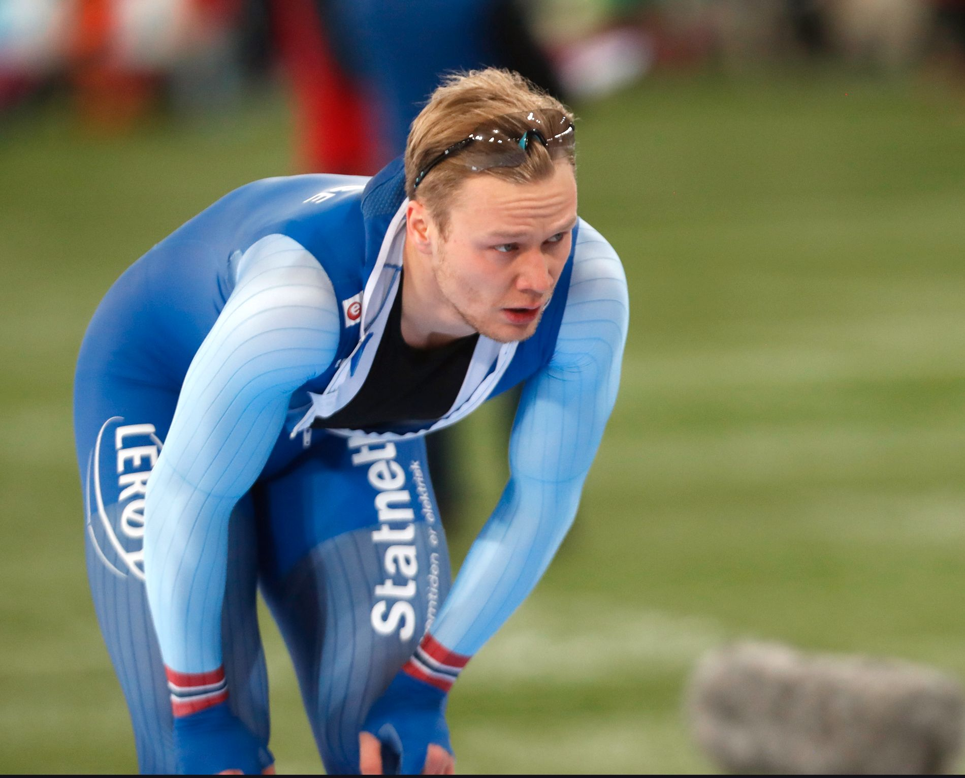 Håvard Holmefjord Lorentzen mener han var dårligere teknisk på skøyter i 2018/2019-sesongen.